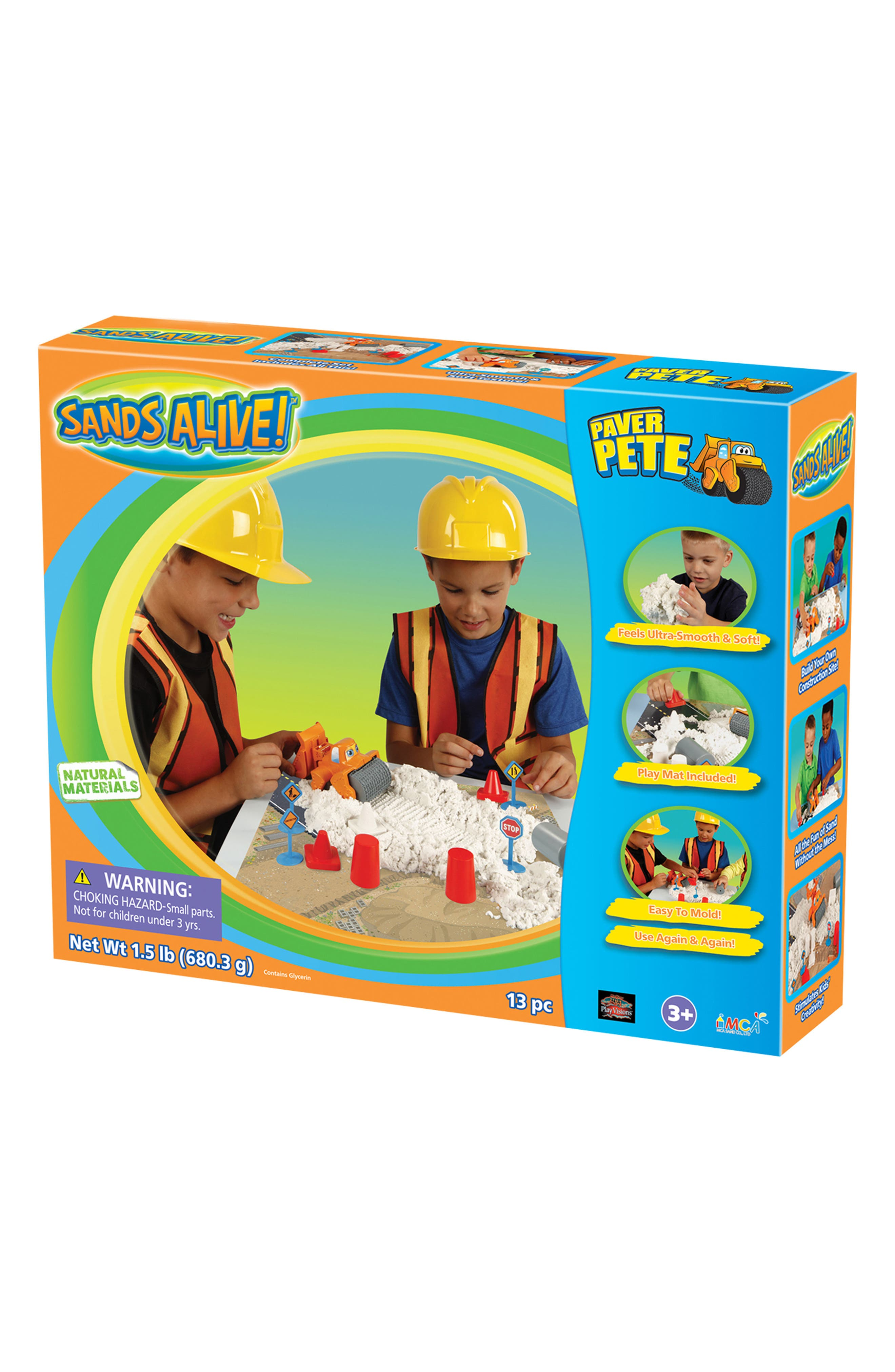 Play Visions Toys Sands Alive! Paver Pete Play Set