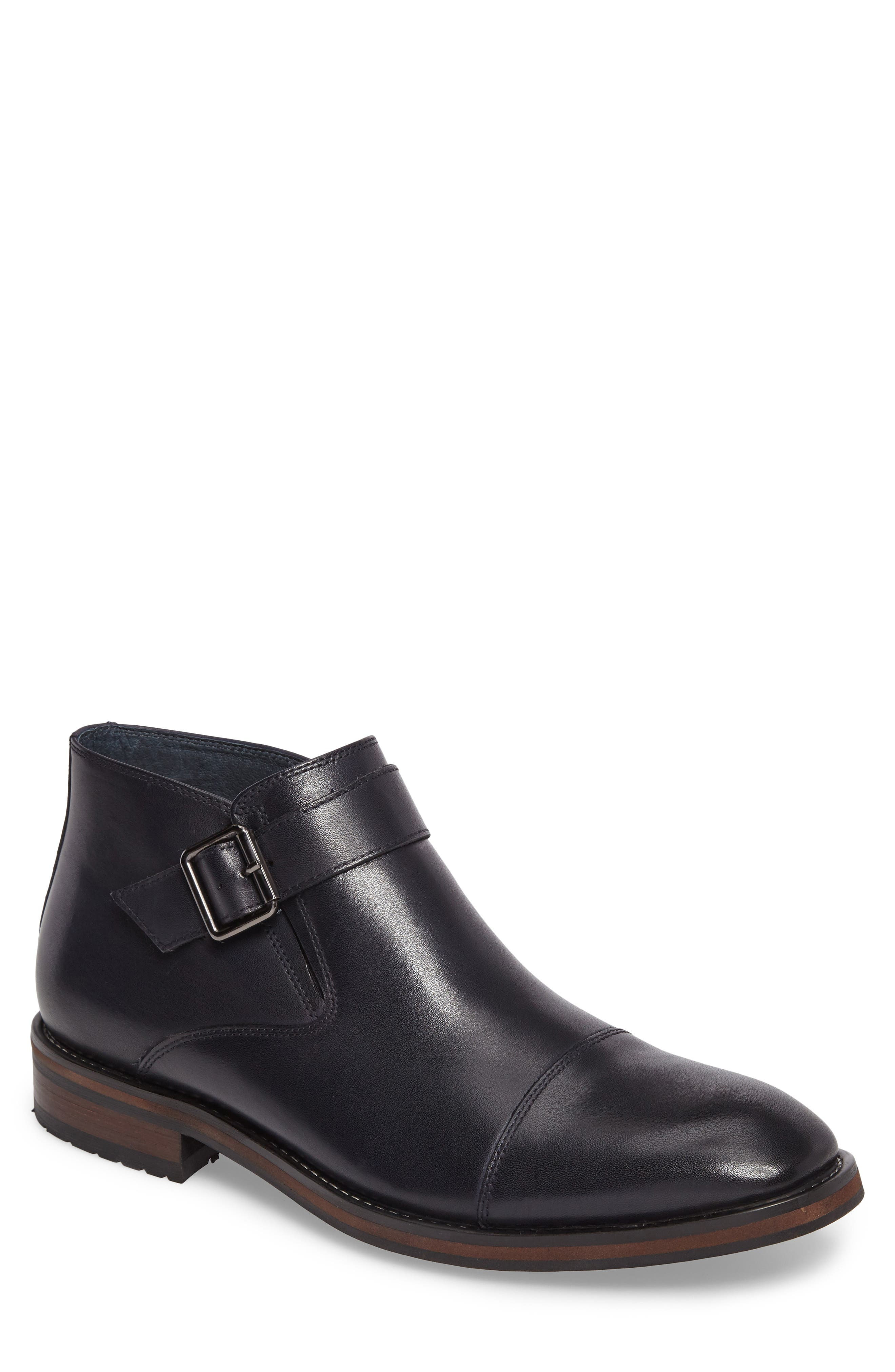 Alternate Image 1 Selected - Zanzara Lami Monk Strap Boot (Men)