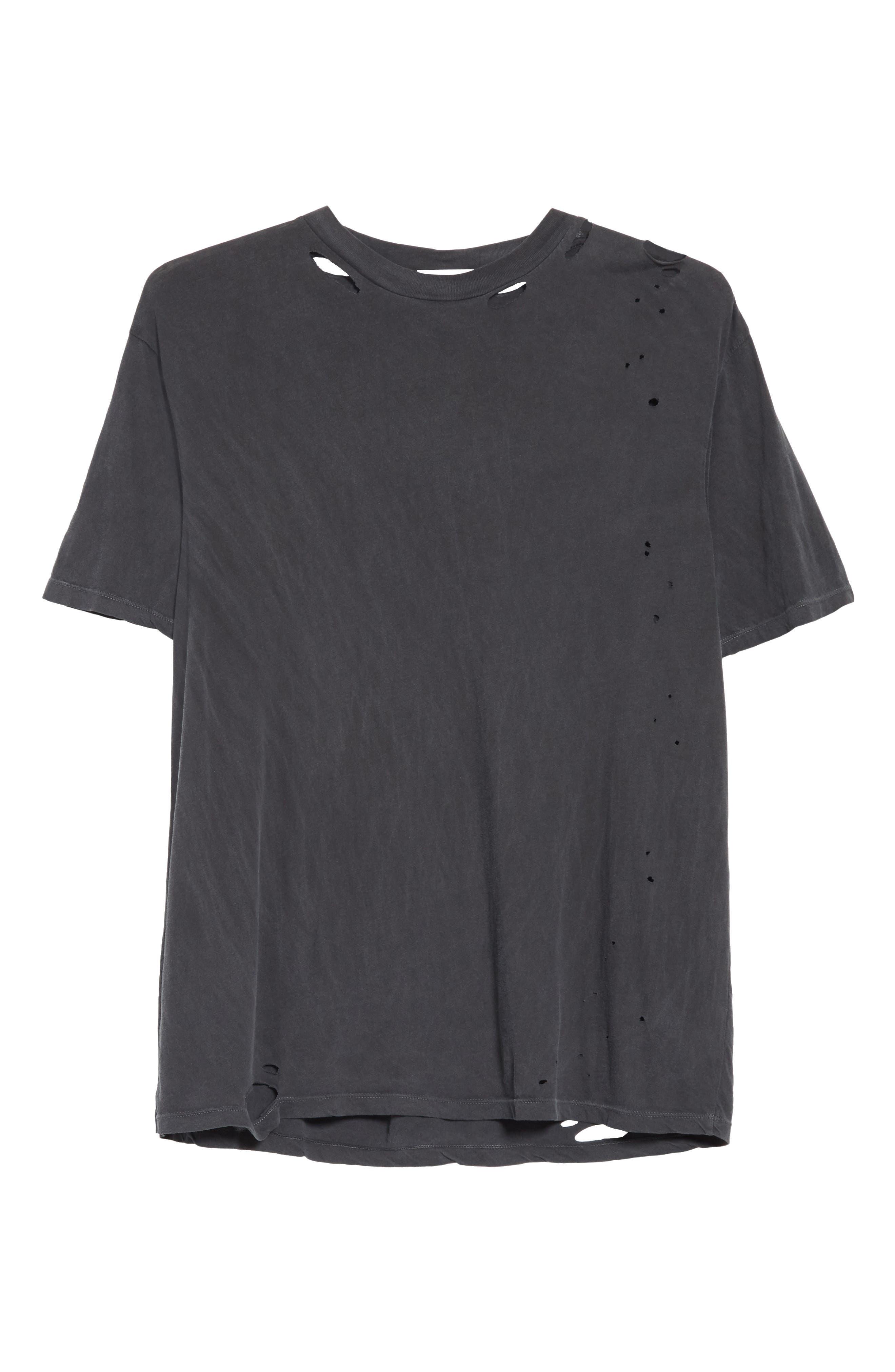 Alternate Image 6  - Drifter Cobain Distressed Oversize T-Shirt