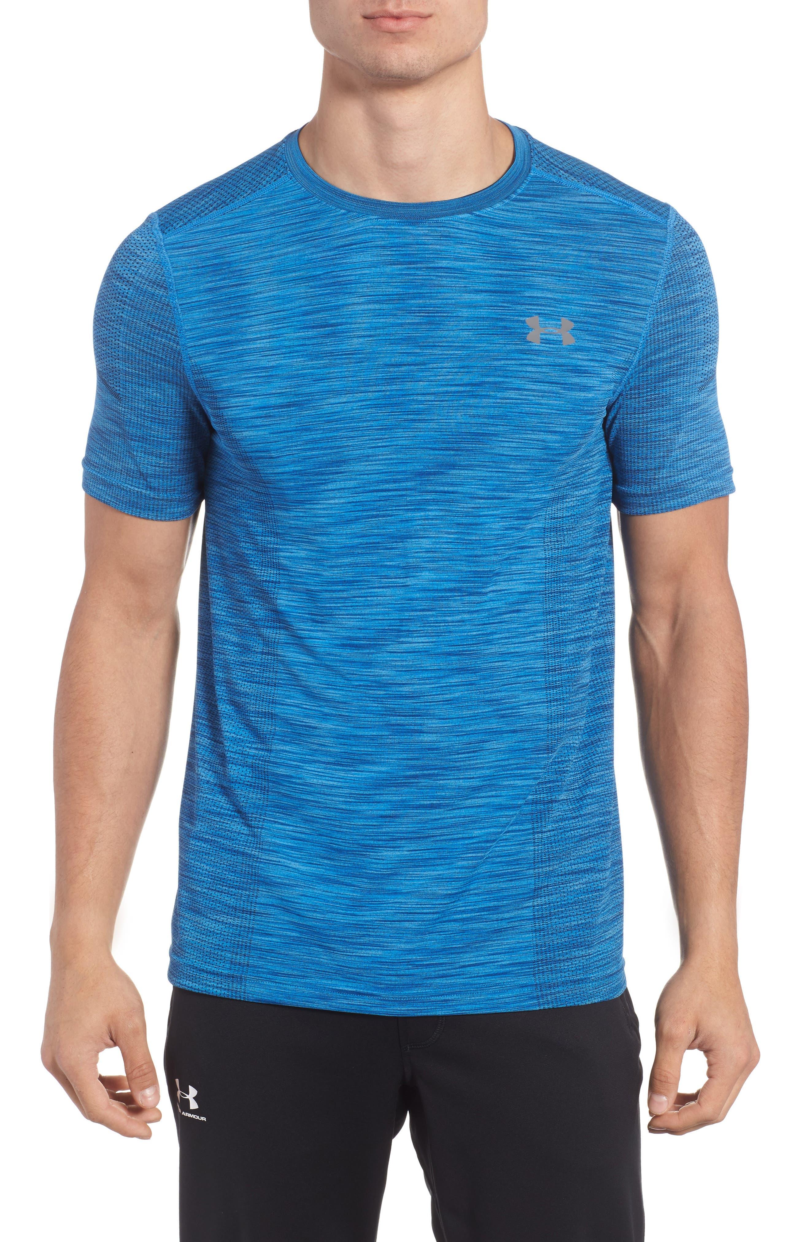 Alternate Image 1 Selected - Under Armour Threadborne Regular Fit T-Shirt