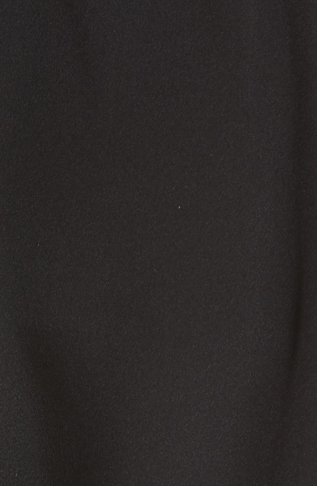 Elli Slim Leg Pants,                             Alternate thumbnail 5, color,                             Black