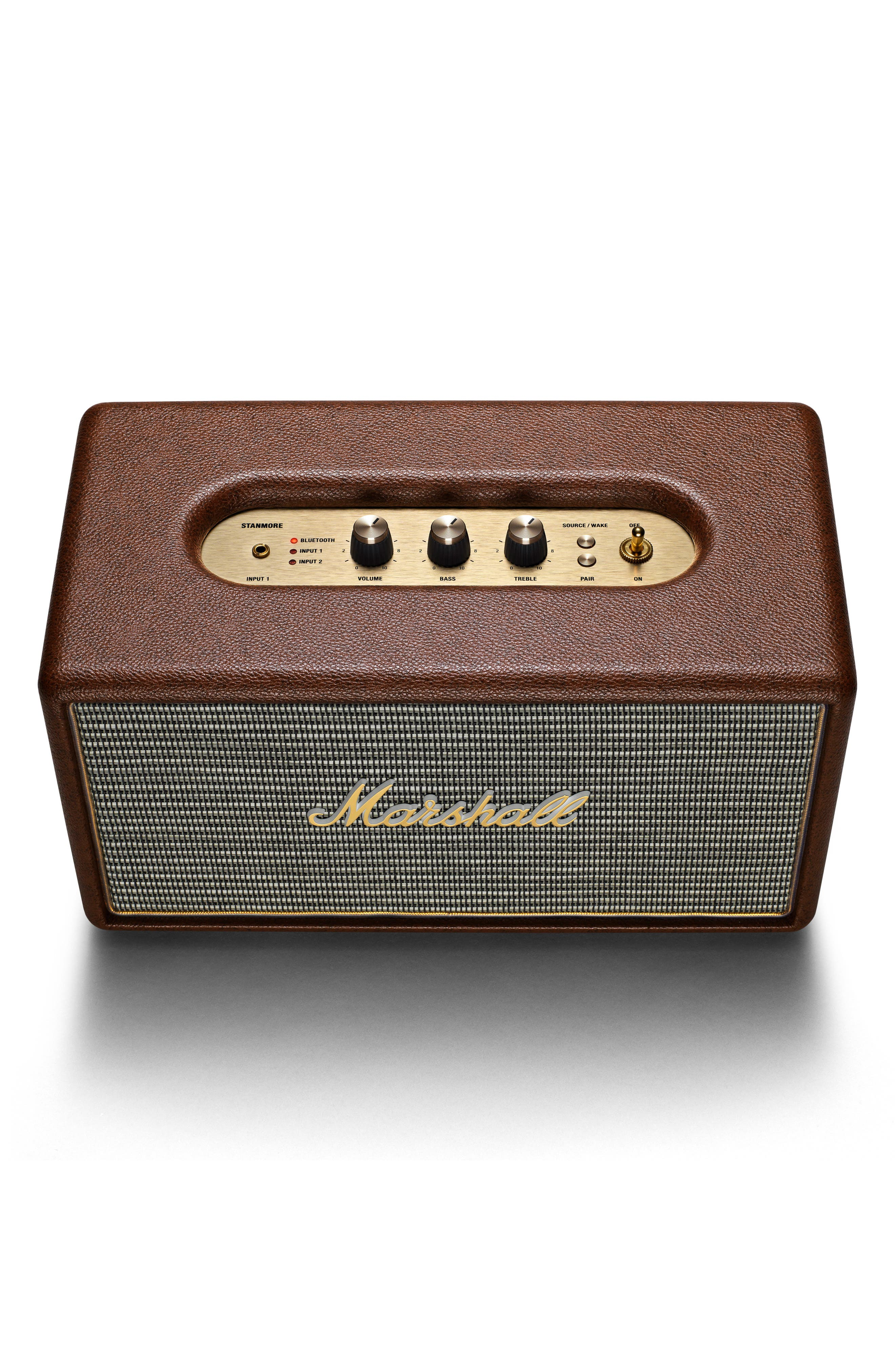 Stanmore Bluetooth Speaker,                             Alternate thumbnail 2, color,                             Brown