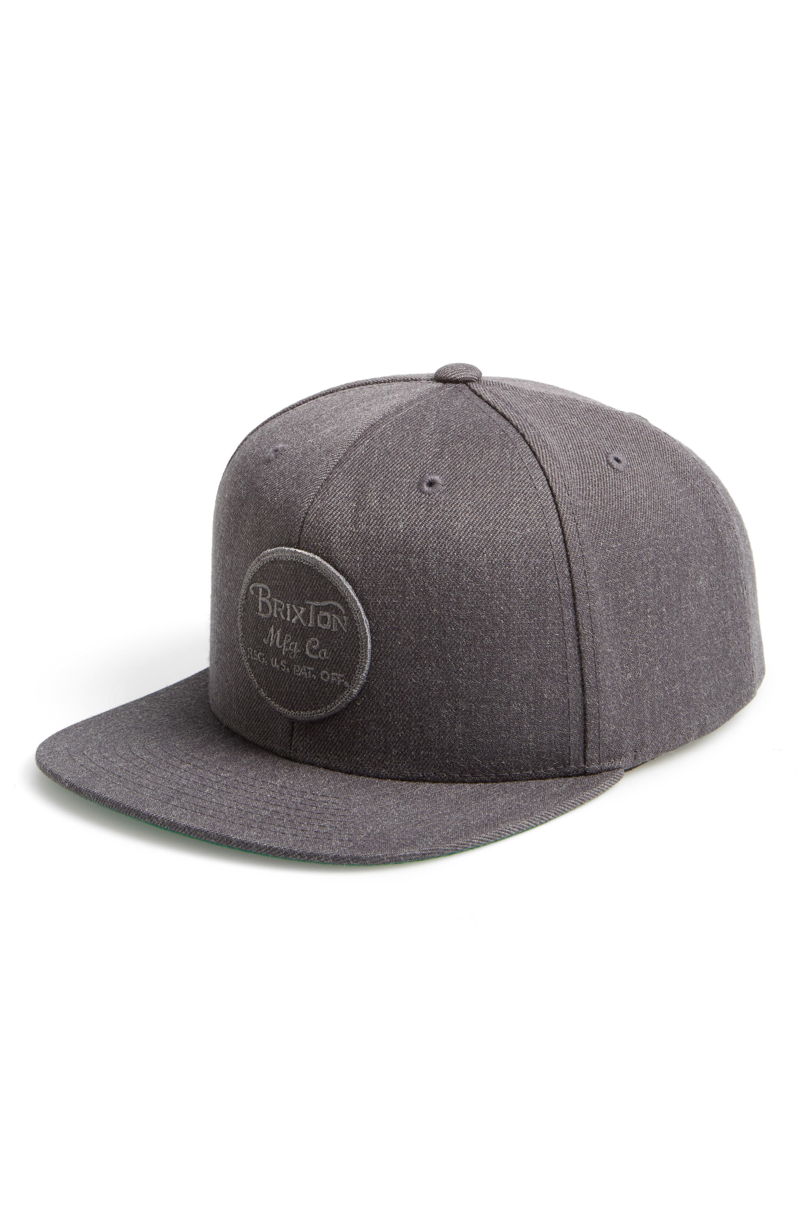 Brixton 'Wheeler' Snapback Cap