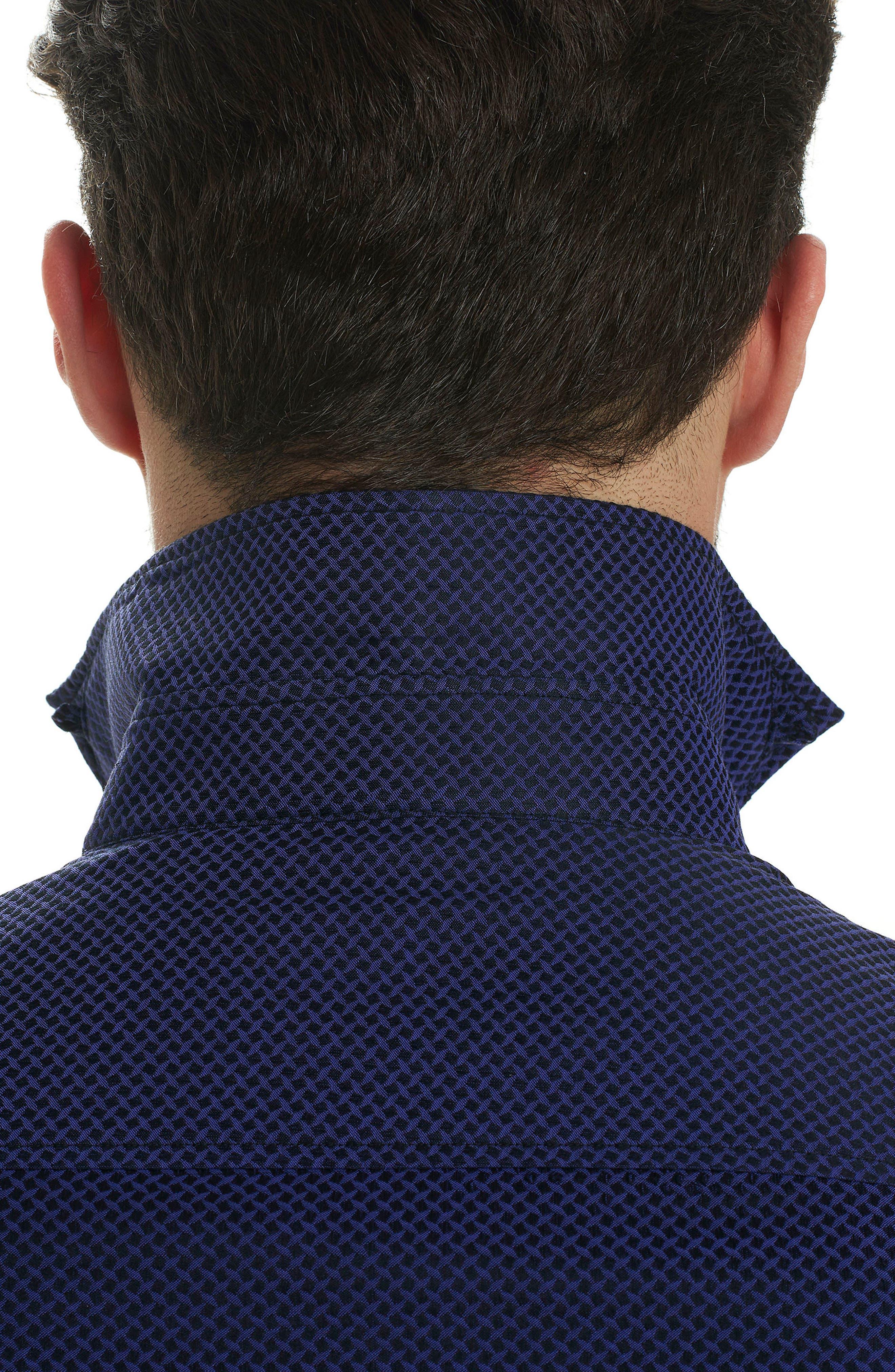 Alternate Image 4  - Robert Graham Bernard Print Sport Shirt