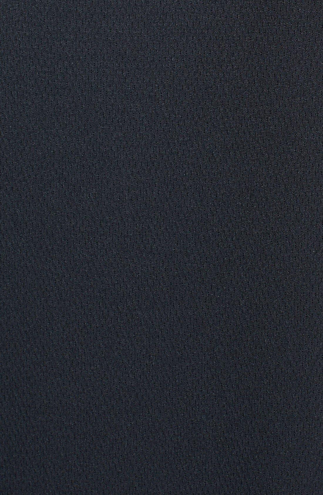 Detroit Lions - Edge DryTec Moisture Wicking Half Zip Pullover,                             Alternate thumbnail 3, color,                             Black