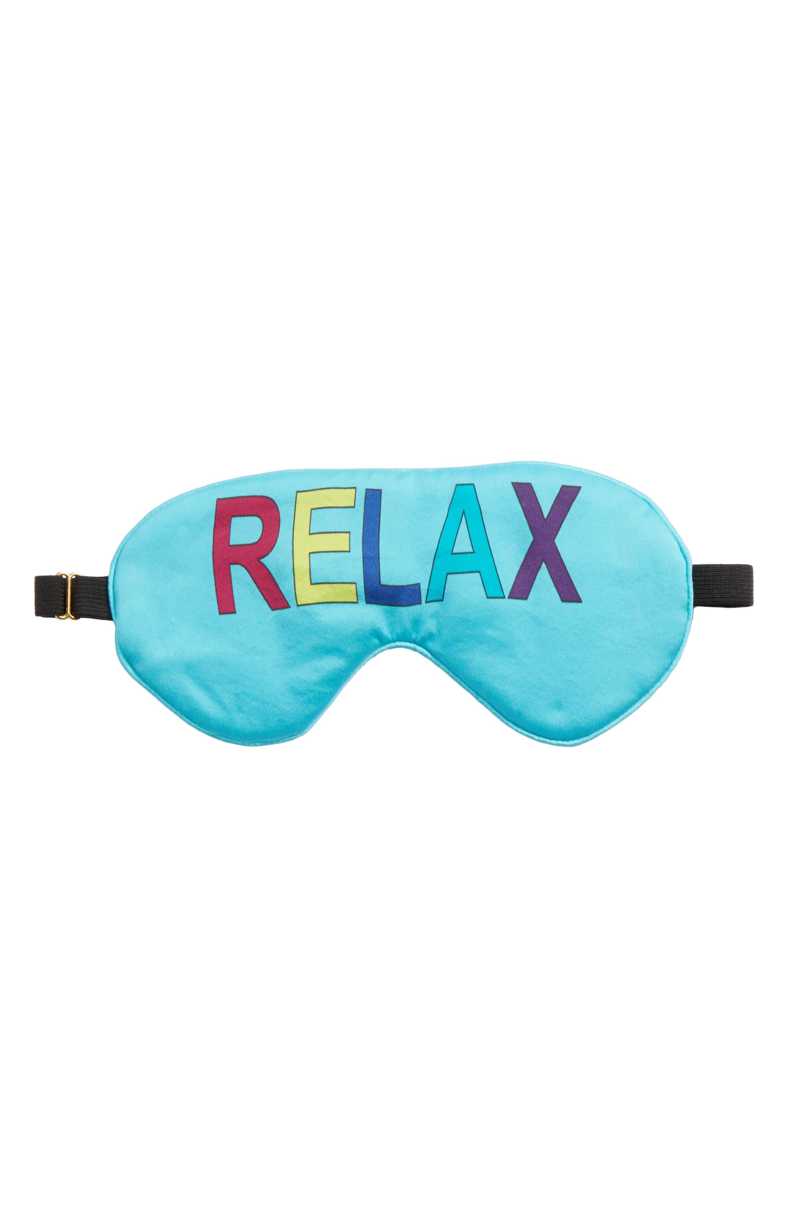 Relax Sleep Mask,                         Main,                         color, Breezy