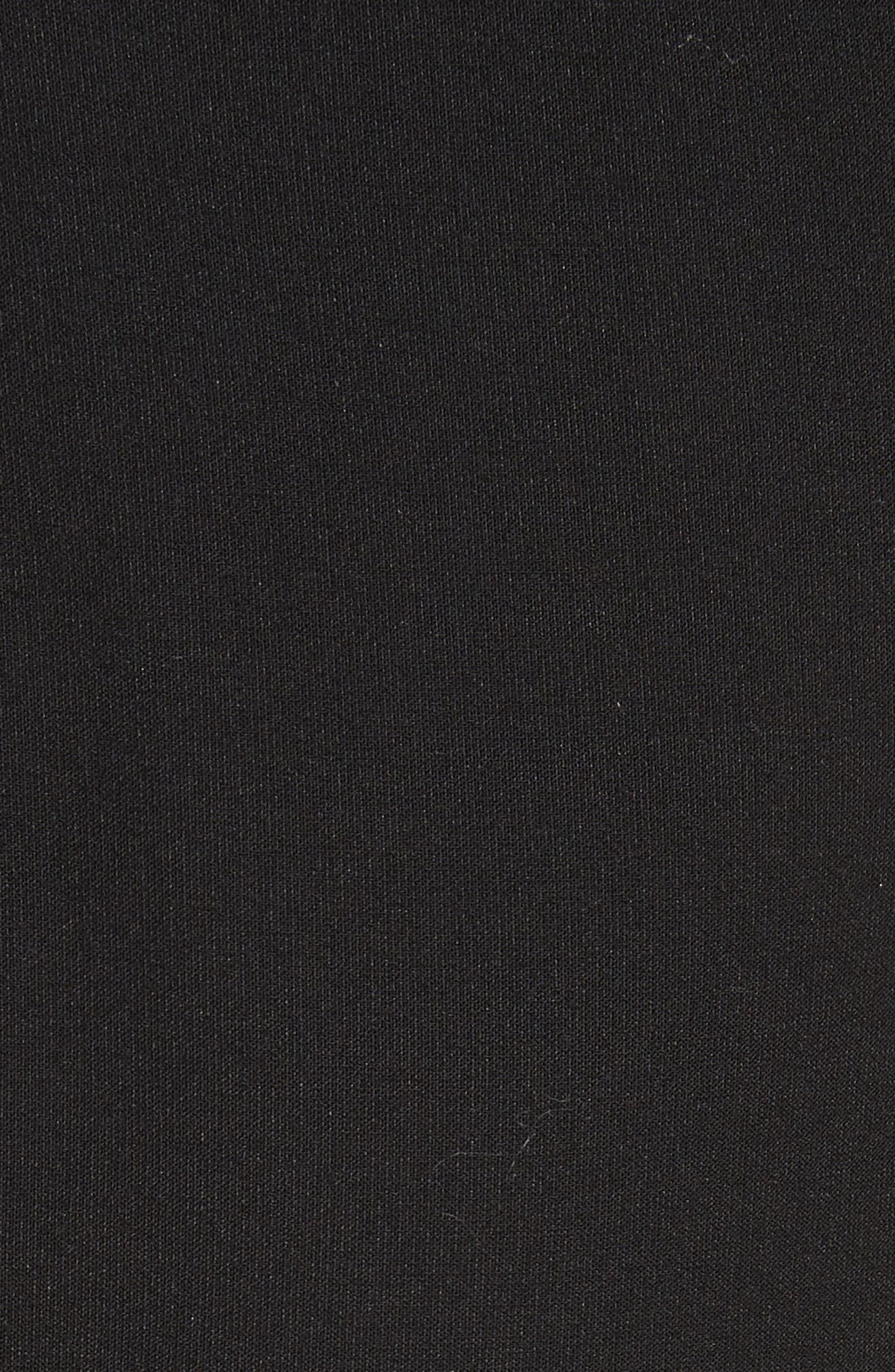 Bryn Halter Dress,                             Alternate thumbnail 5, color,                             Black