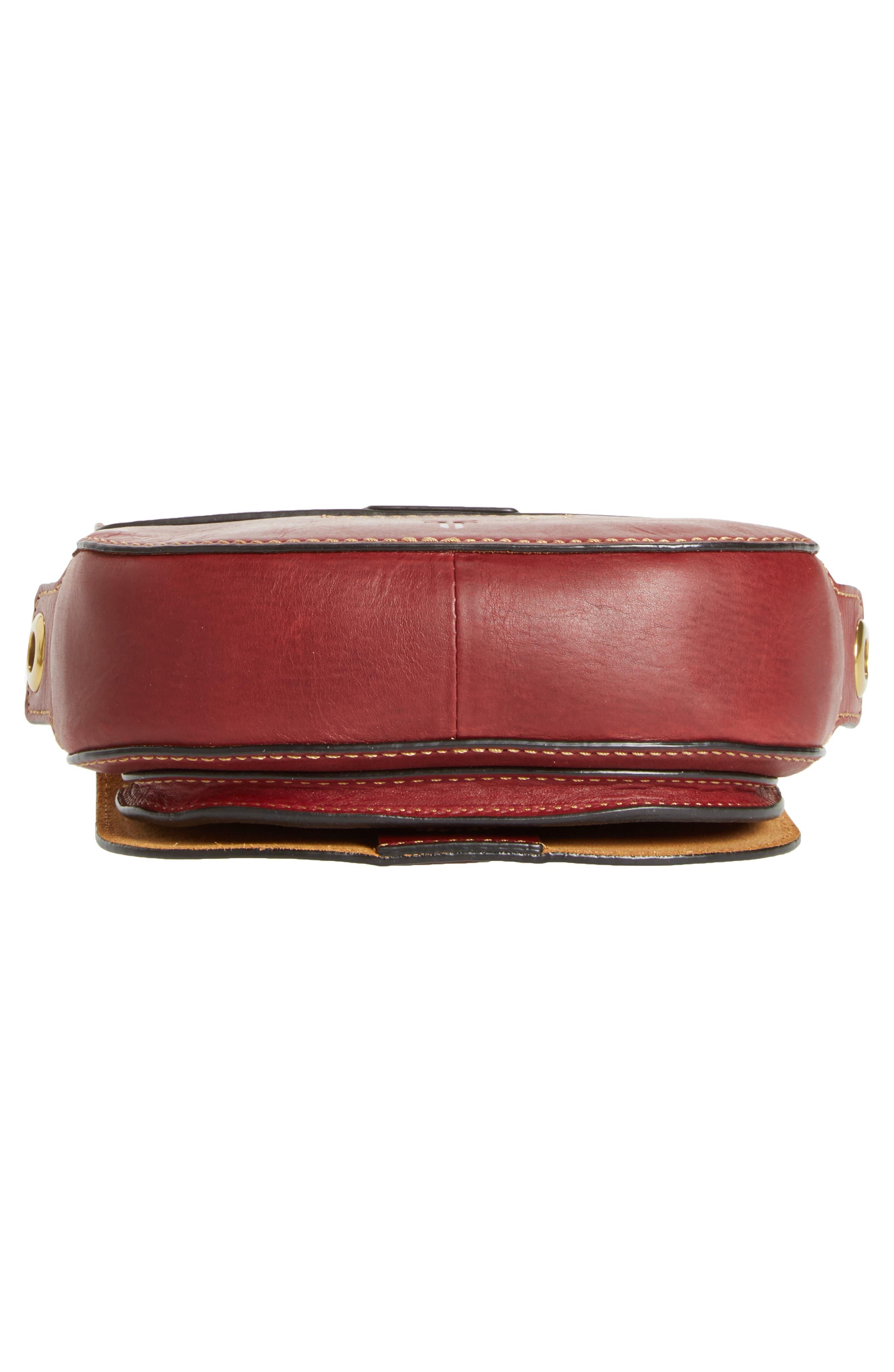 Alternate Image 6  - Frye Mini Ilana Harness Leather Saddle Bag