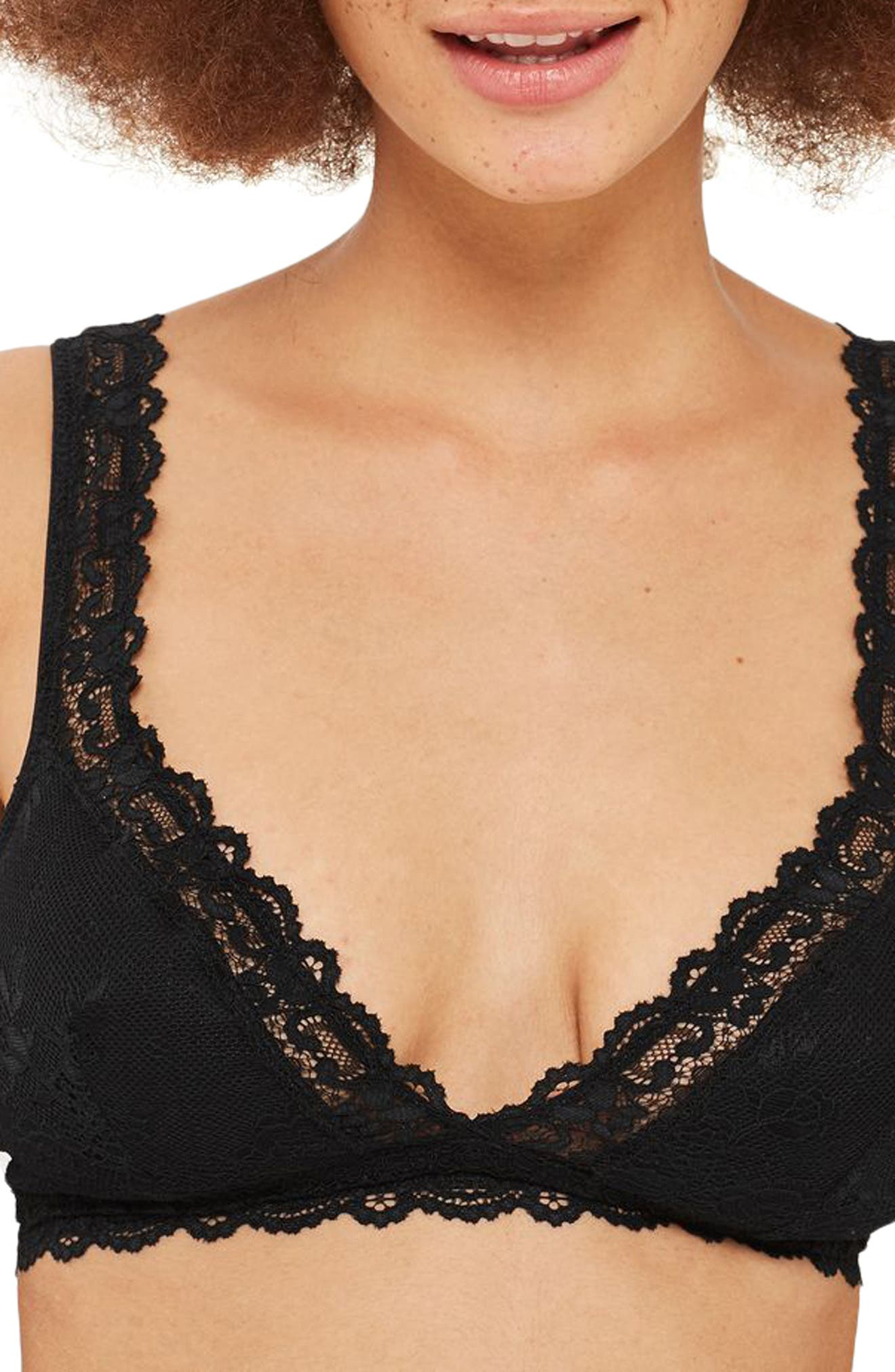 Alternate Image 1 Selected - Topshop Cordelia Lace Bra