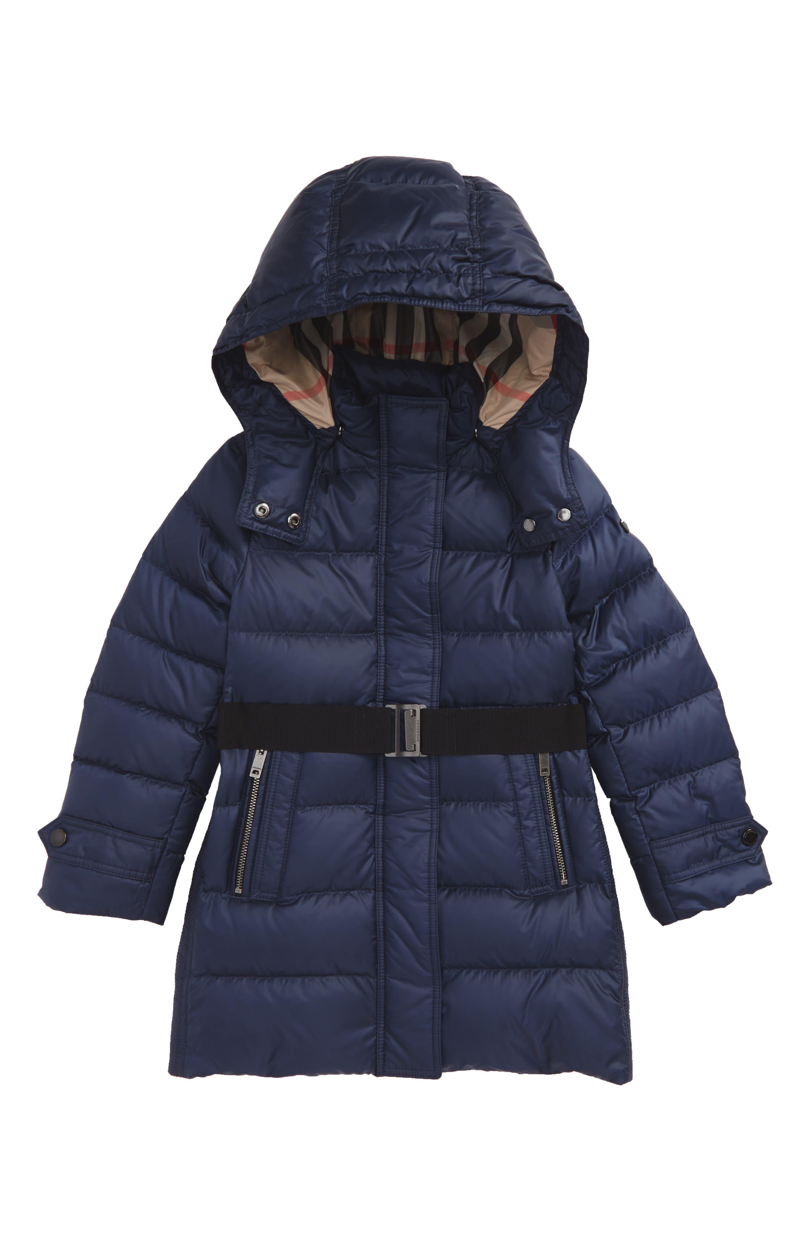 Burberry Mini Dalesford Hooded Puffer Jacket (Little Girls & Big Girls)