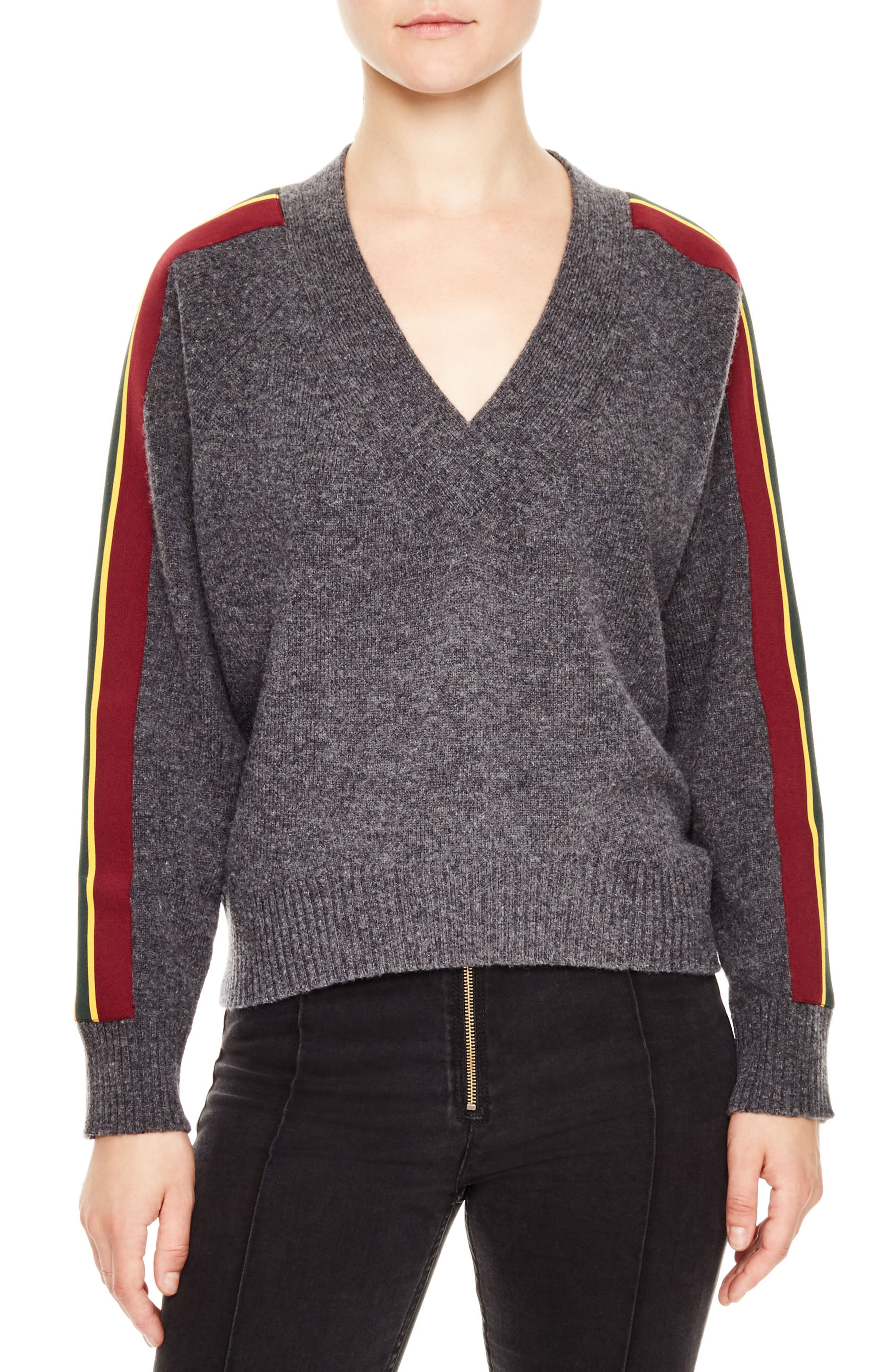 Artic Wool Blend Sweater,                         Main,                         color, Grey