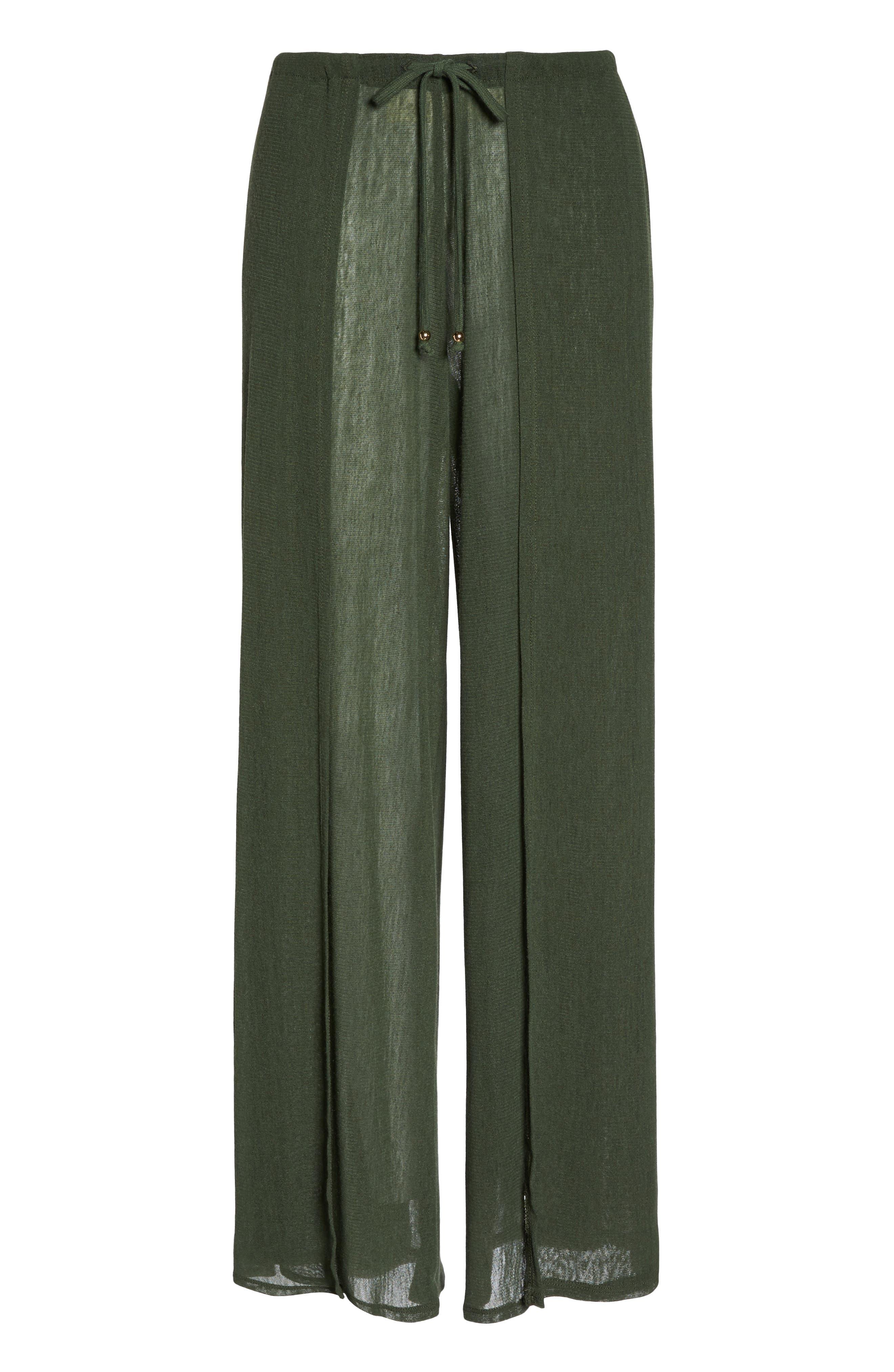 Robin Piccone Francesca Wide Leg Cover-Up Pants