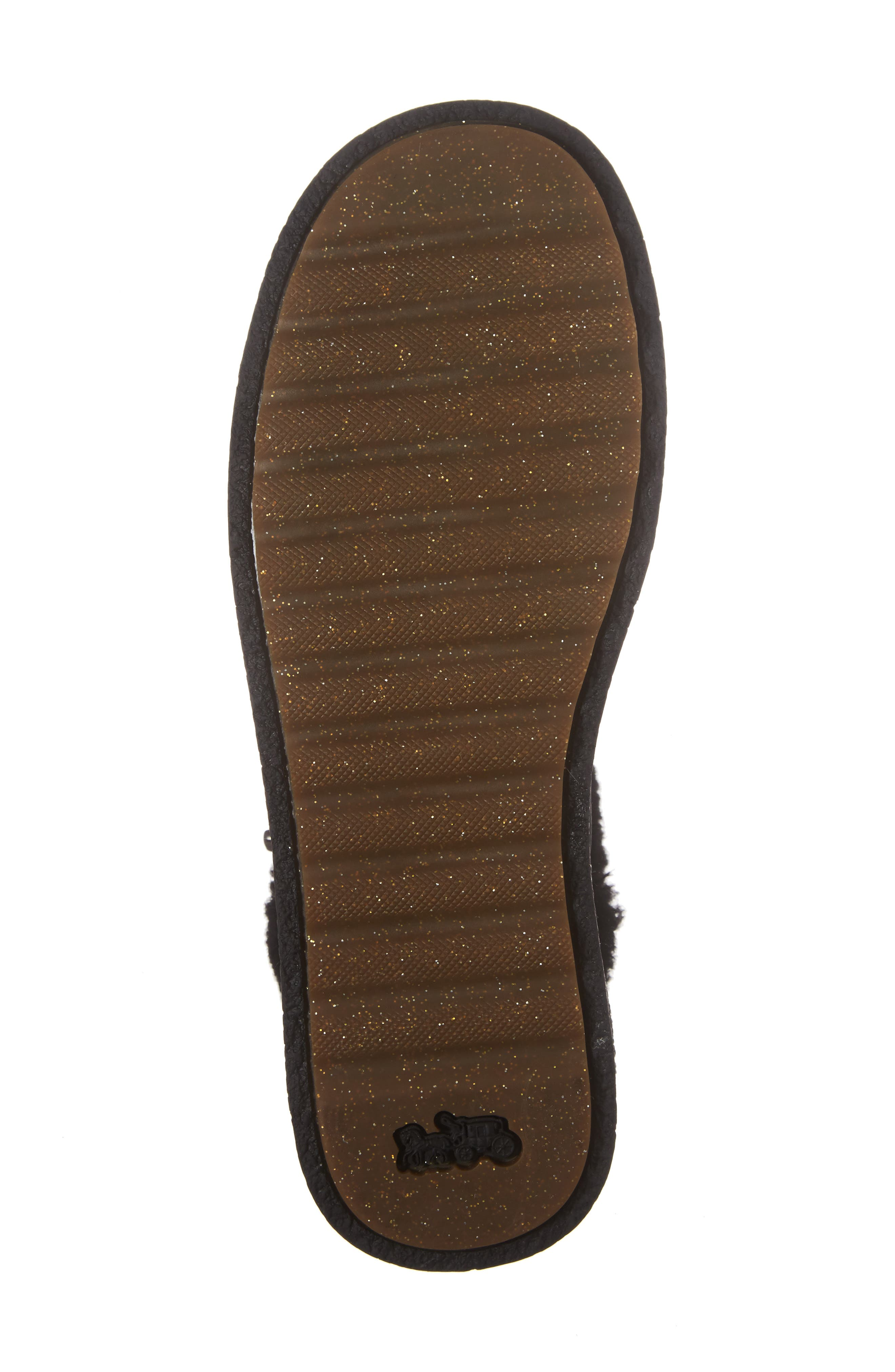 Alternate Image 6  - COACH Genuine Shearling Moto Boot (Women)