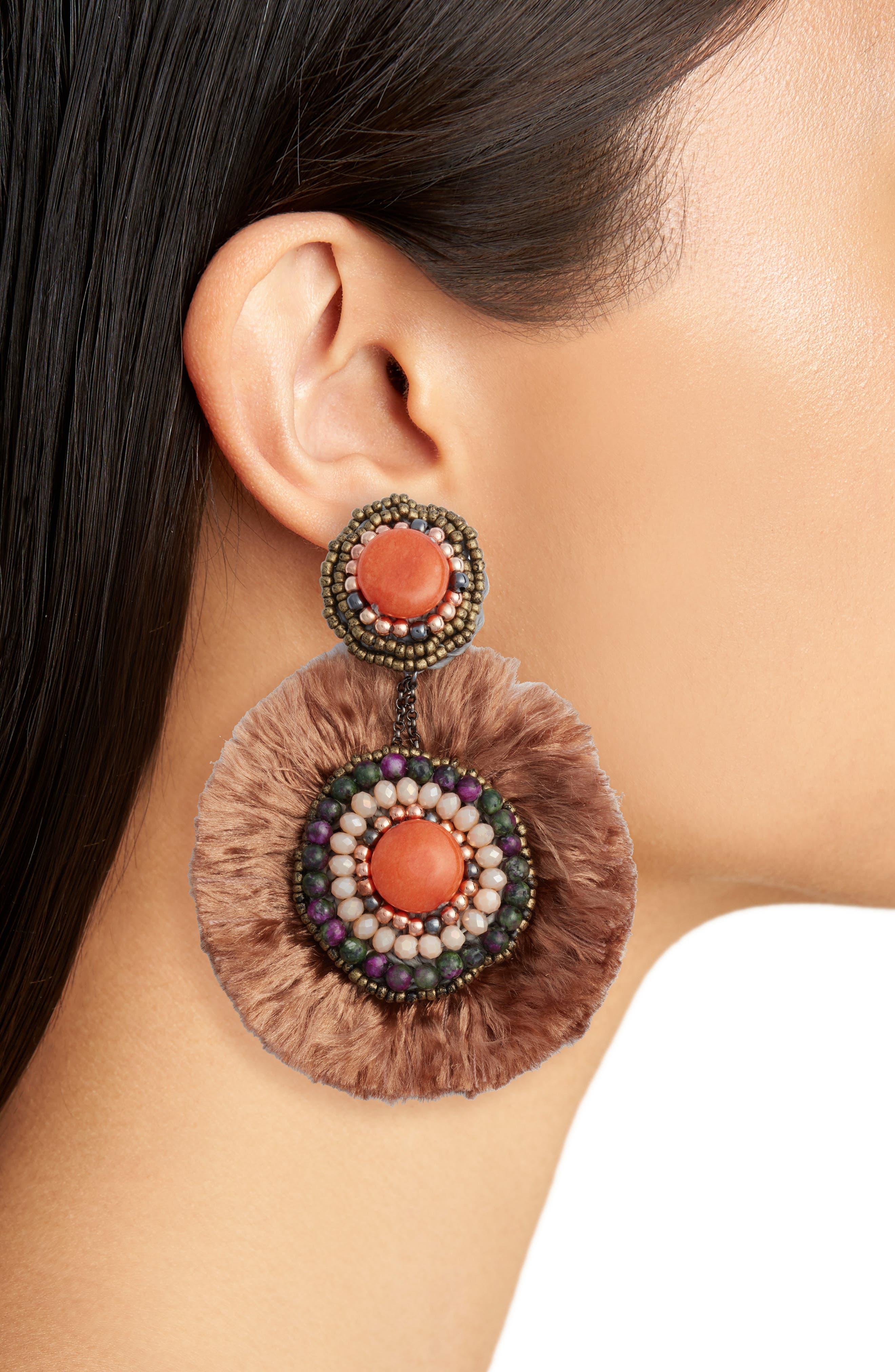 Alternate Image 2  - Nakamol Design Fringe Earrings