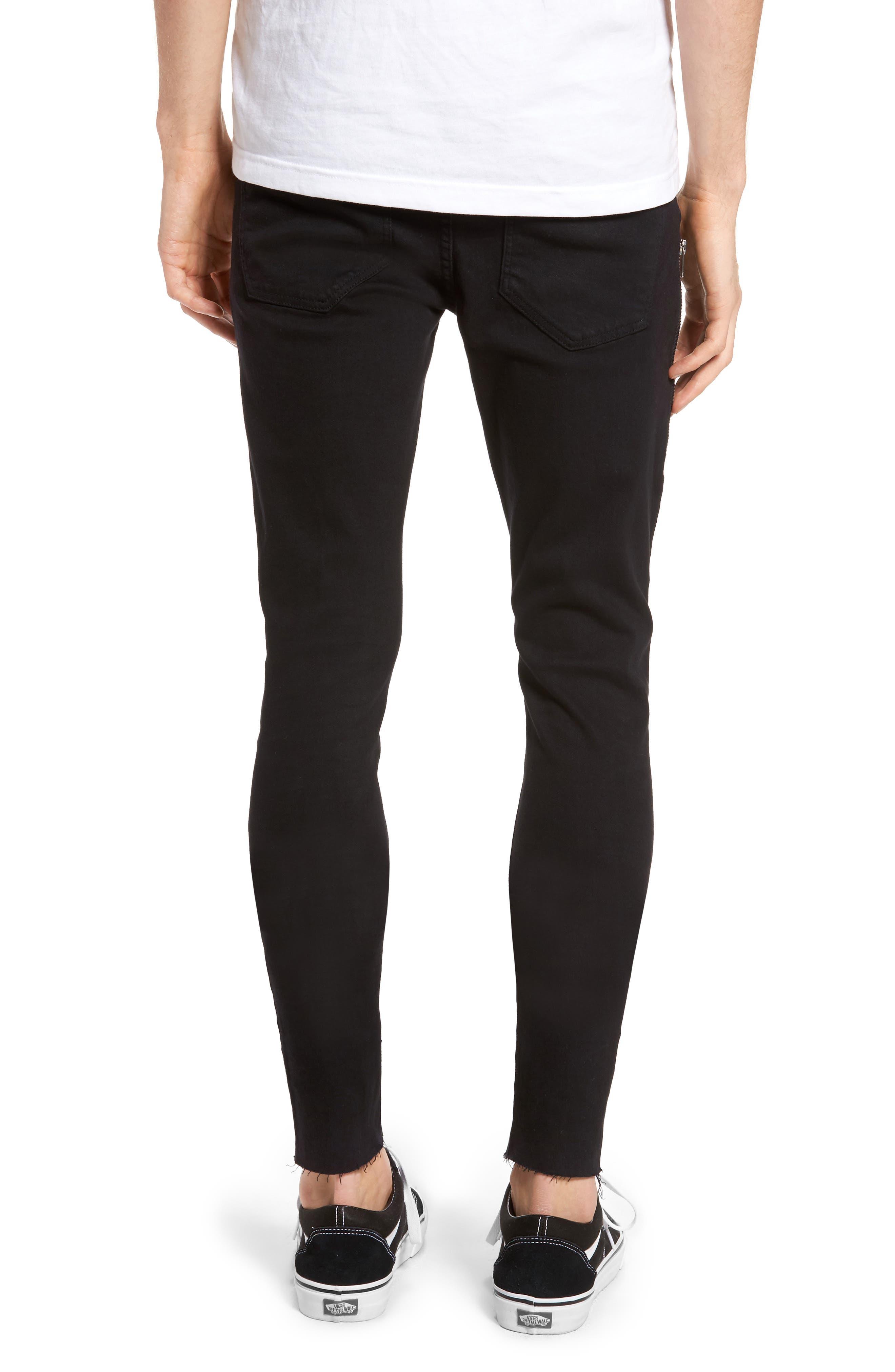 Alternate Image 2  - Dr. Denim Supply Co. Leroy Skinny Fit Jeans (Black Punk)