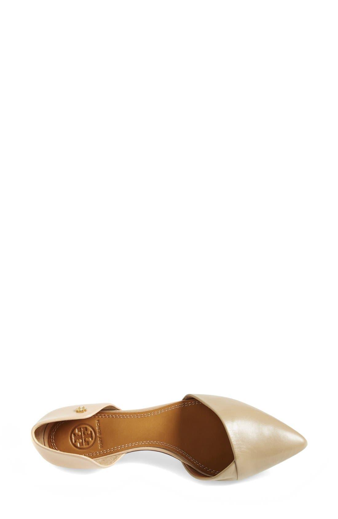Alternate Image 3  - Tory Burch Leather Flat