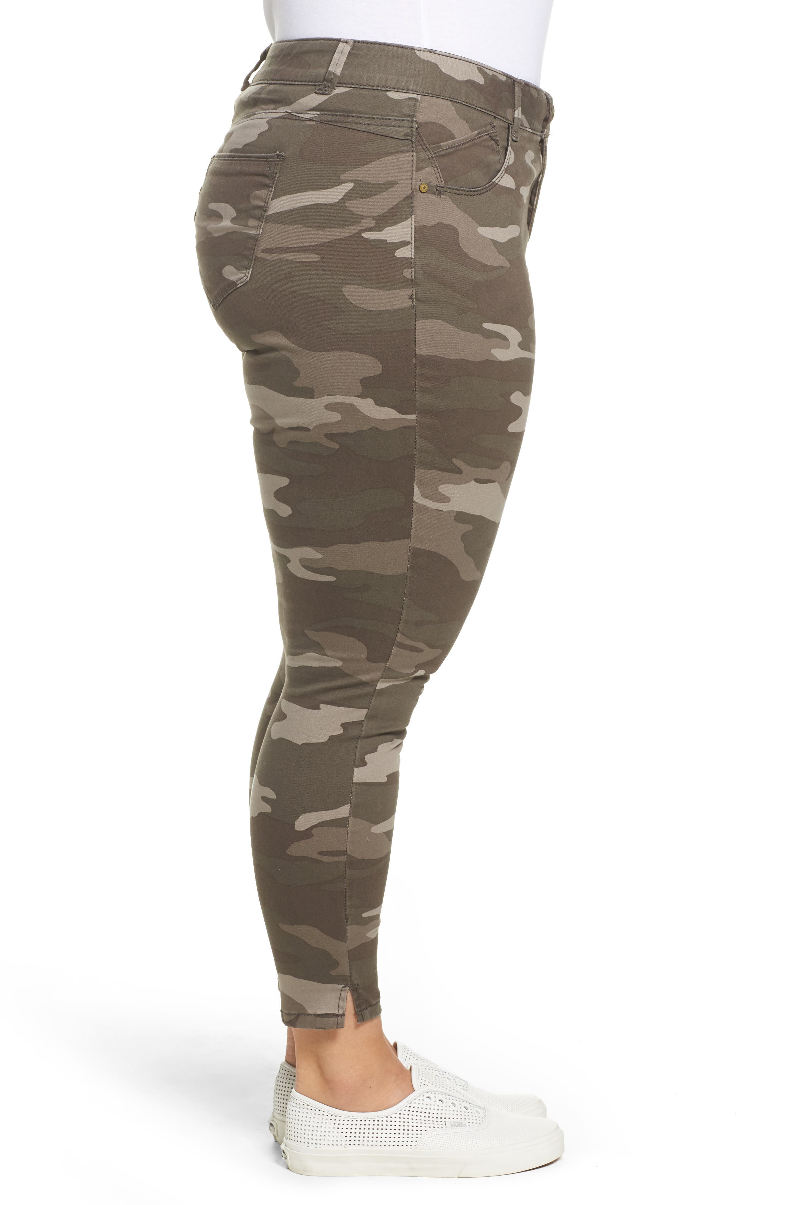 Alternate Image 3  - Wit & Wisdom Ab-solution Camo Skinny Pants (Plus Size) (Nordstrom Exclusive)