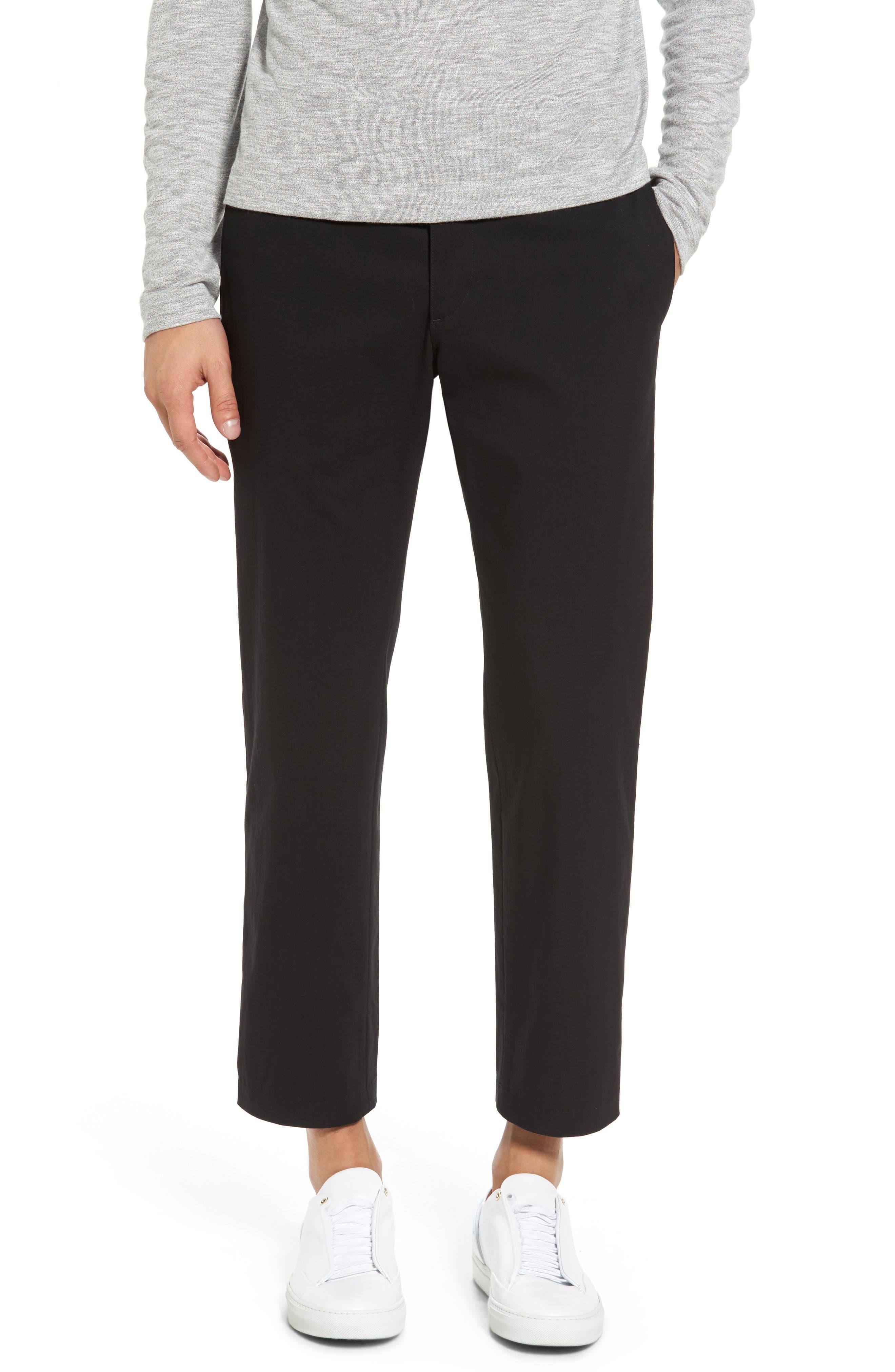 Utility Modern Straight Leg Pants,                         Main,                         color, Black