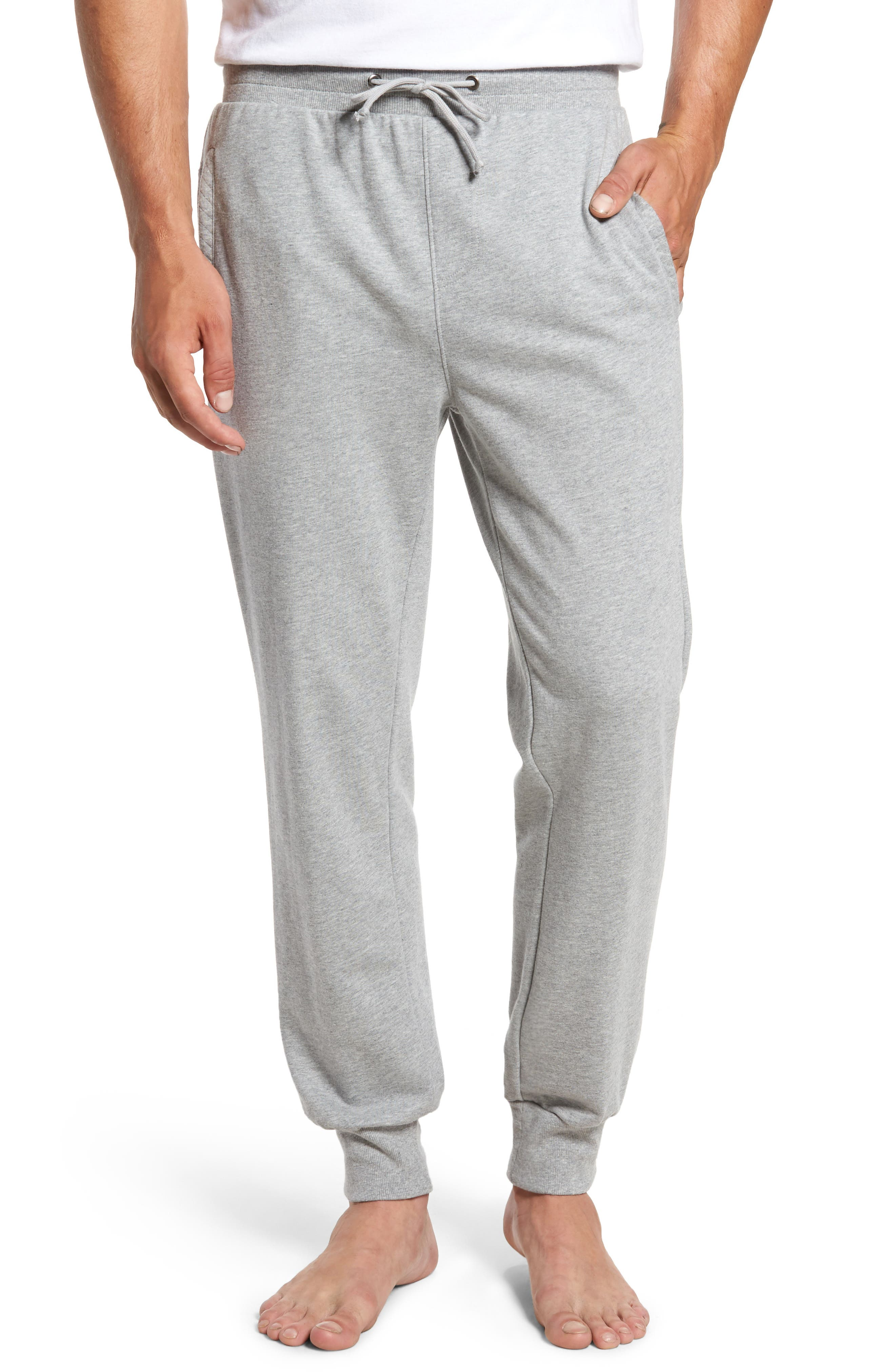 Alternate Image 1 Selected - Nordstrom Men's Shop Quilted Lounge Pants
