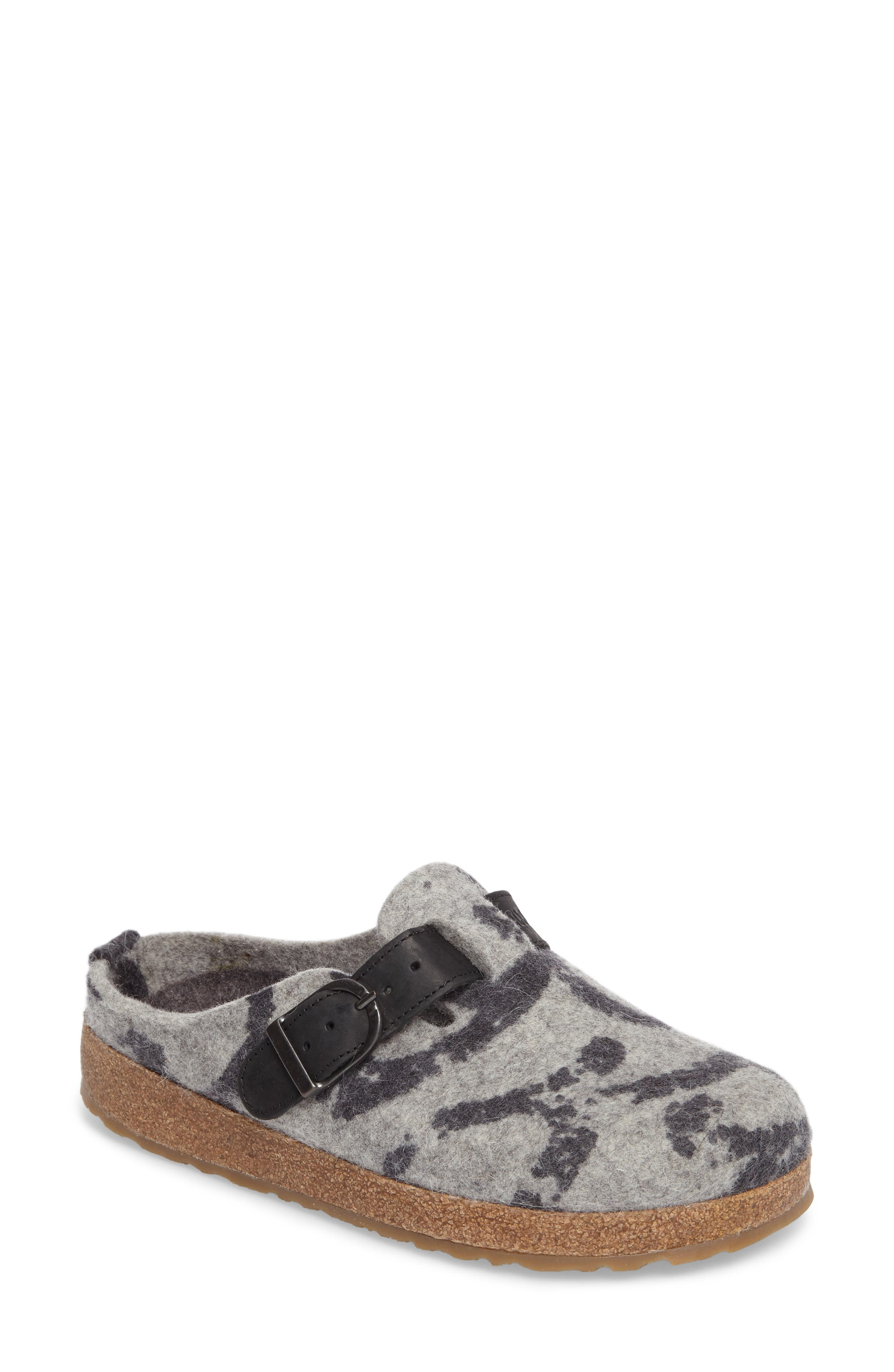 Alternate Image 1 Selected - Haflinger GZB Print Slipper (Women)