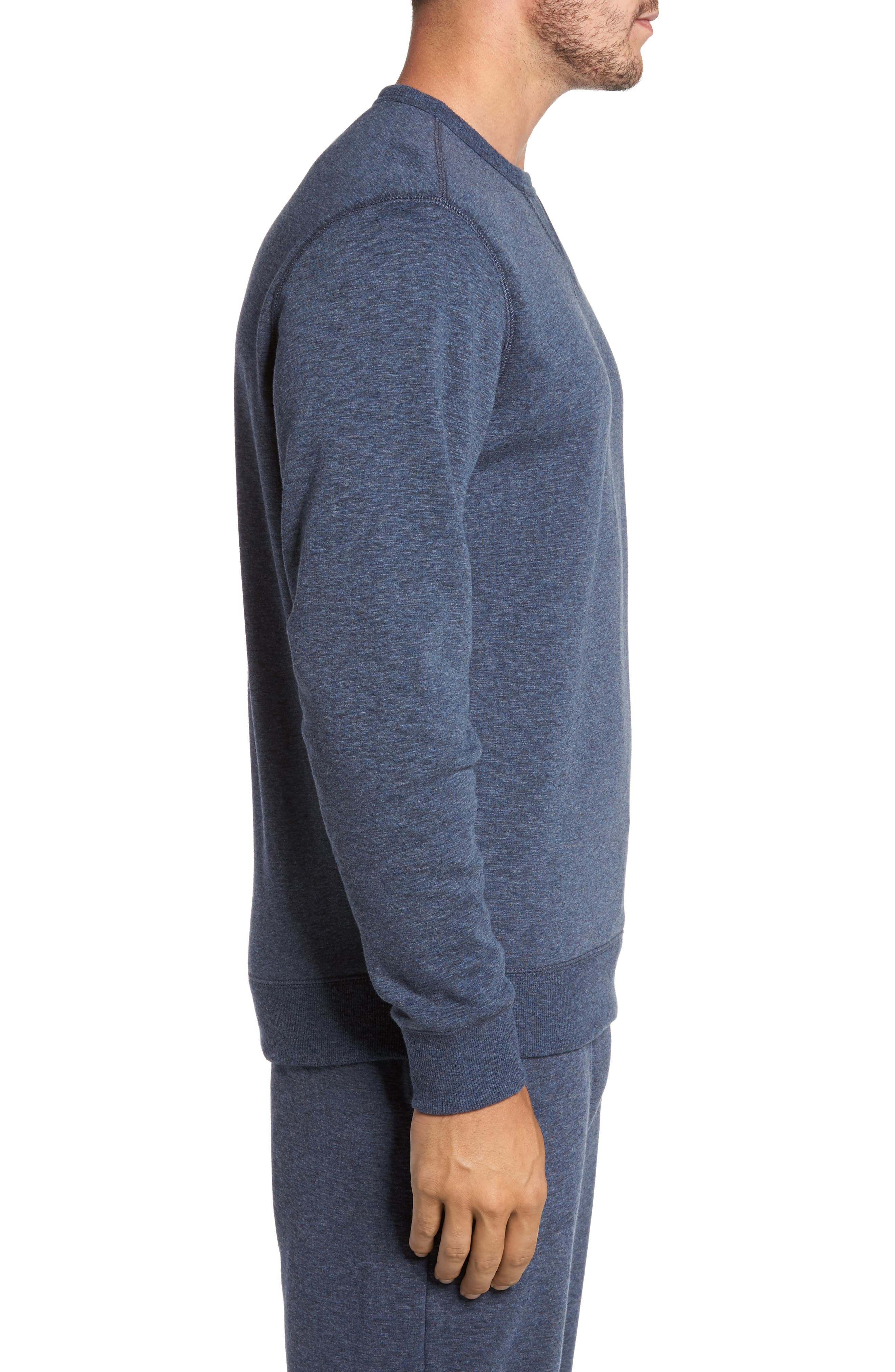Alternate Image 3  - Nordstrom Men's Shop French Terry Long Sleeve Pajama Top