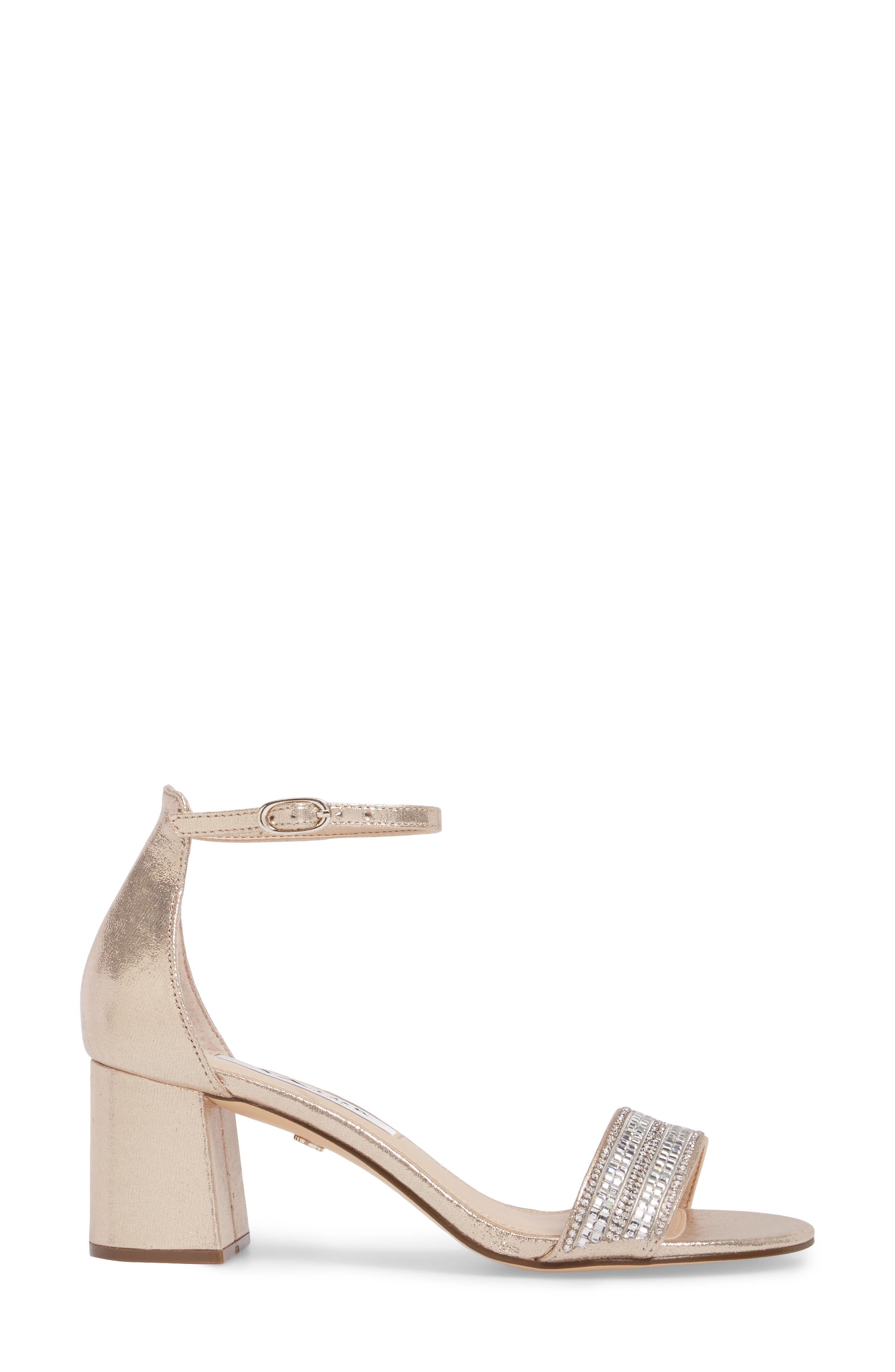 Elenora Sandal,                             Alternate thumbnail 3, color,                             Taupe Suede