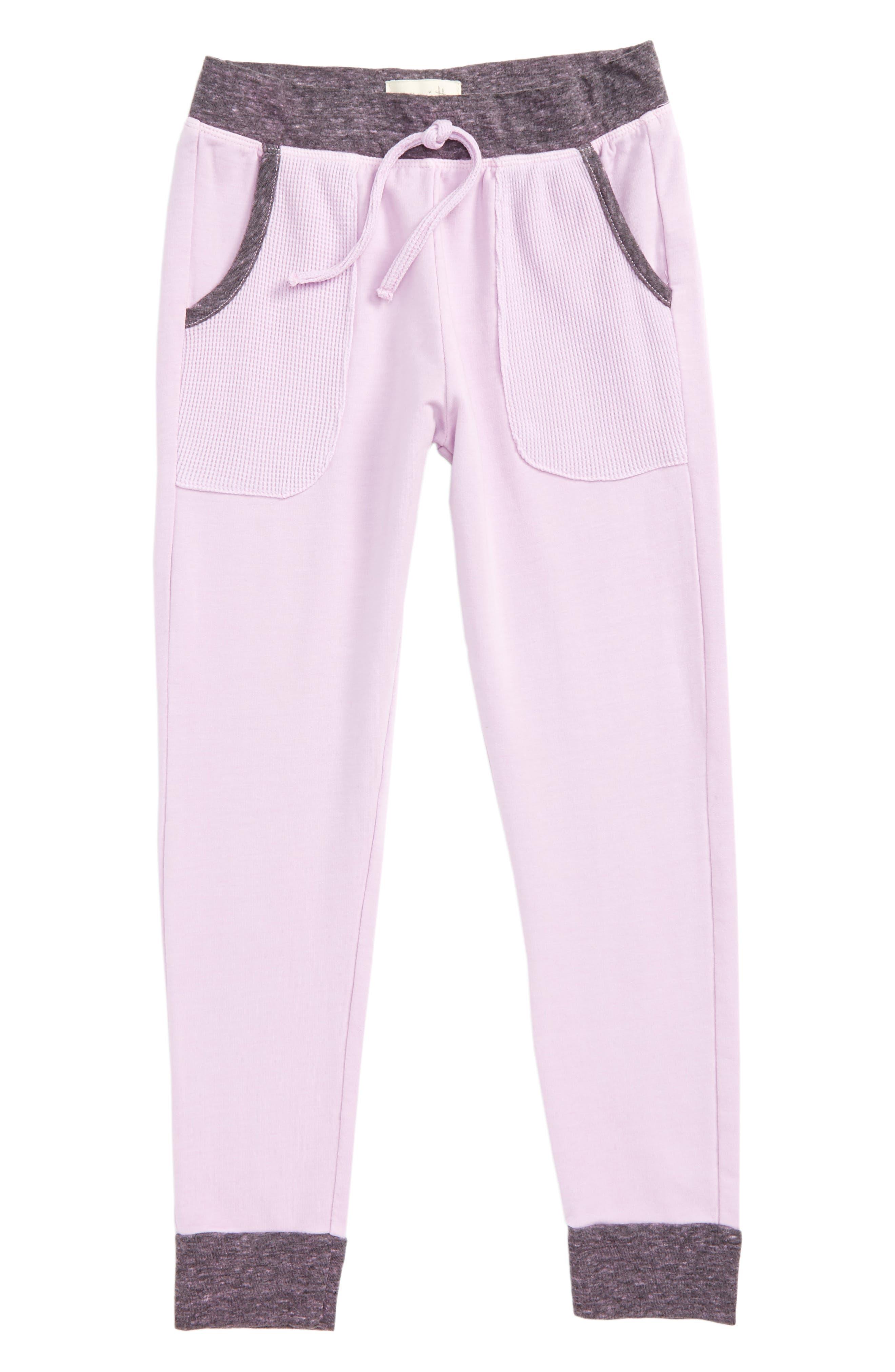 Alternate Image 1 Selected - Miki Miette Haydon Jogger Pants (Little Girls & Toddler Girls)