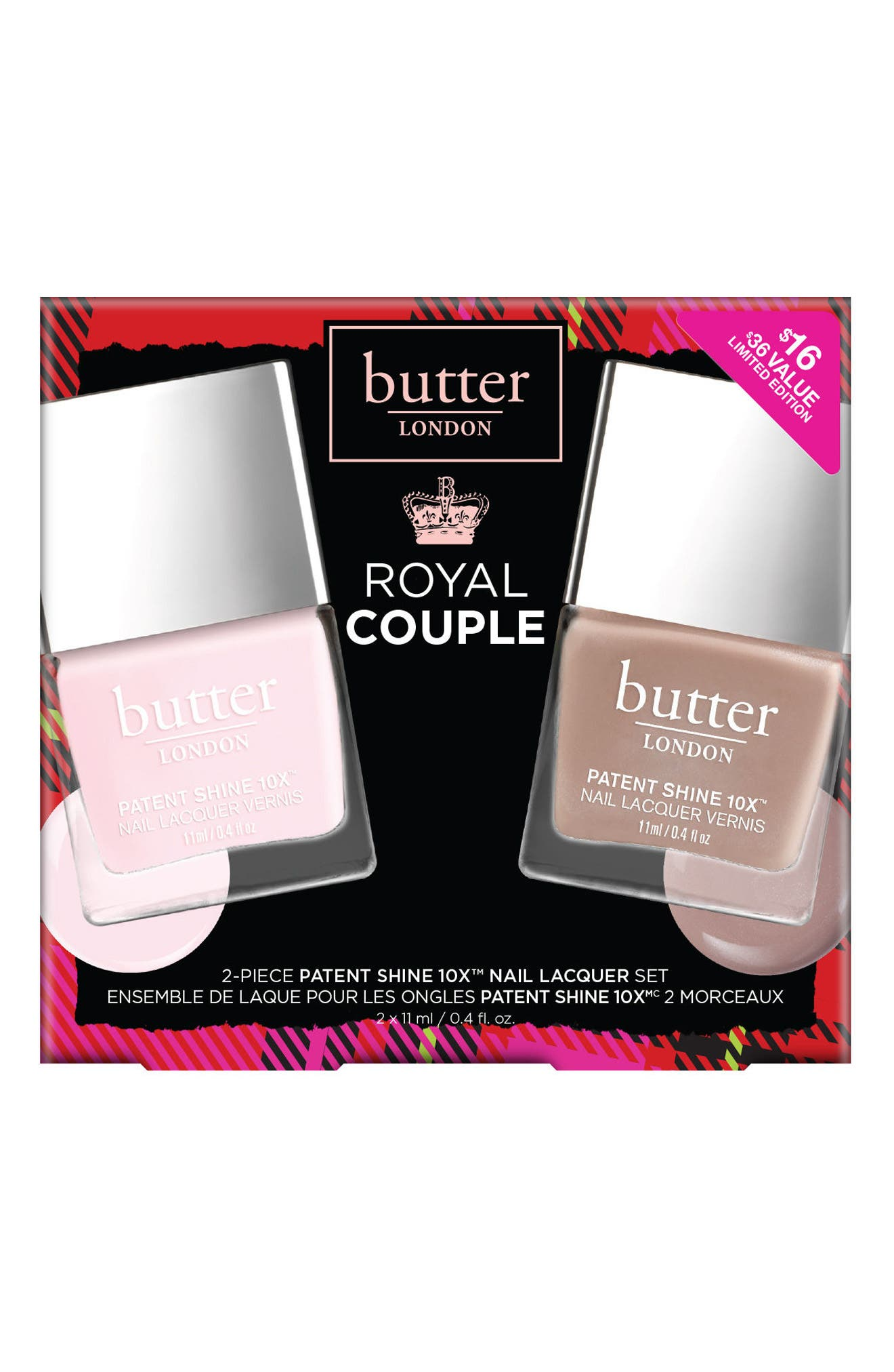 Alternate Image 2  - butter LONDON Royal Couple Collection ($36 Value)