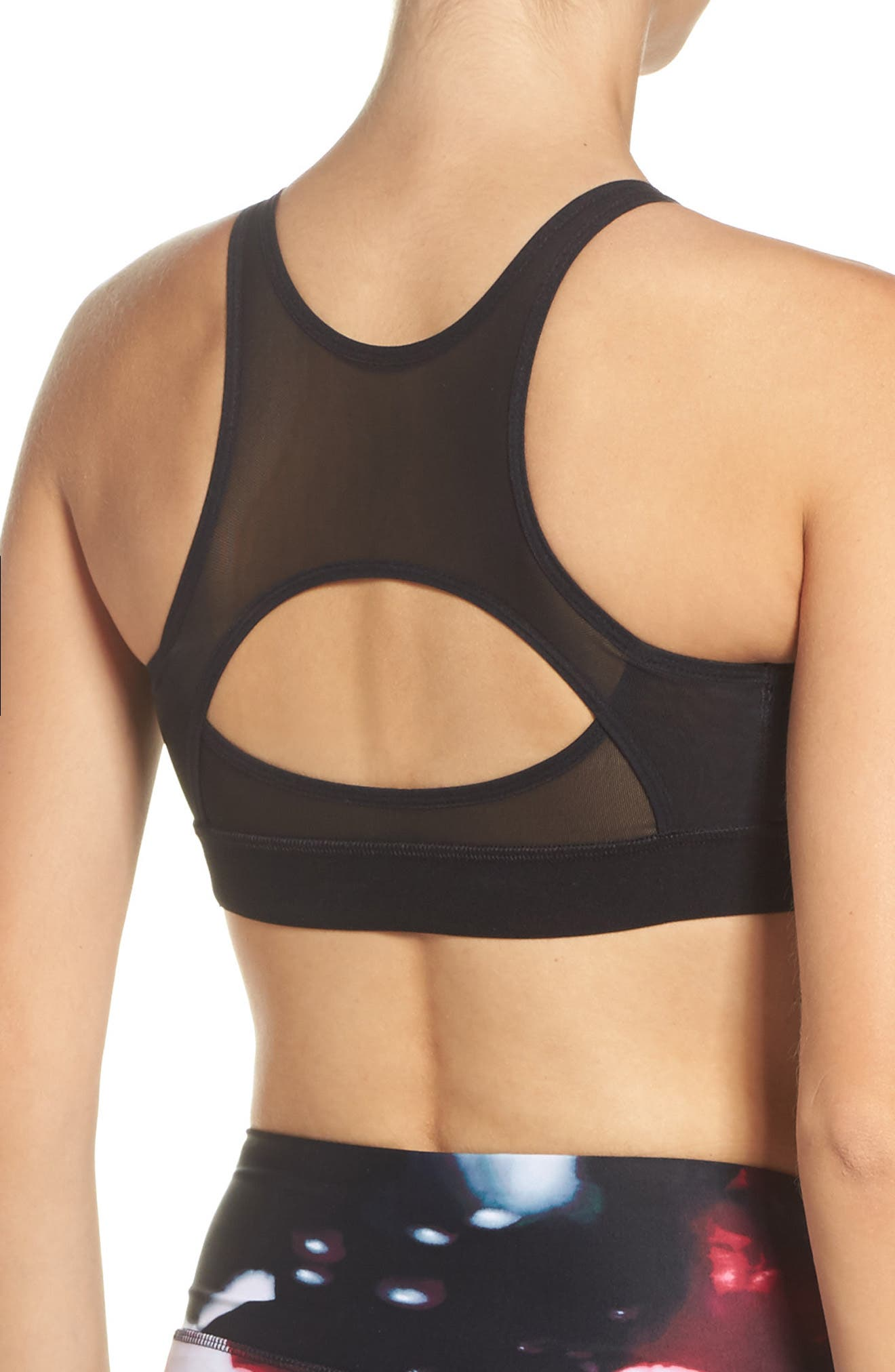 Alternate Image 2  - HPE Impact 2.0 Mesh High Impact Compression Sports Bra