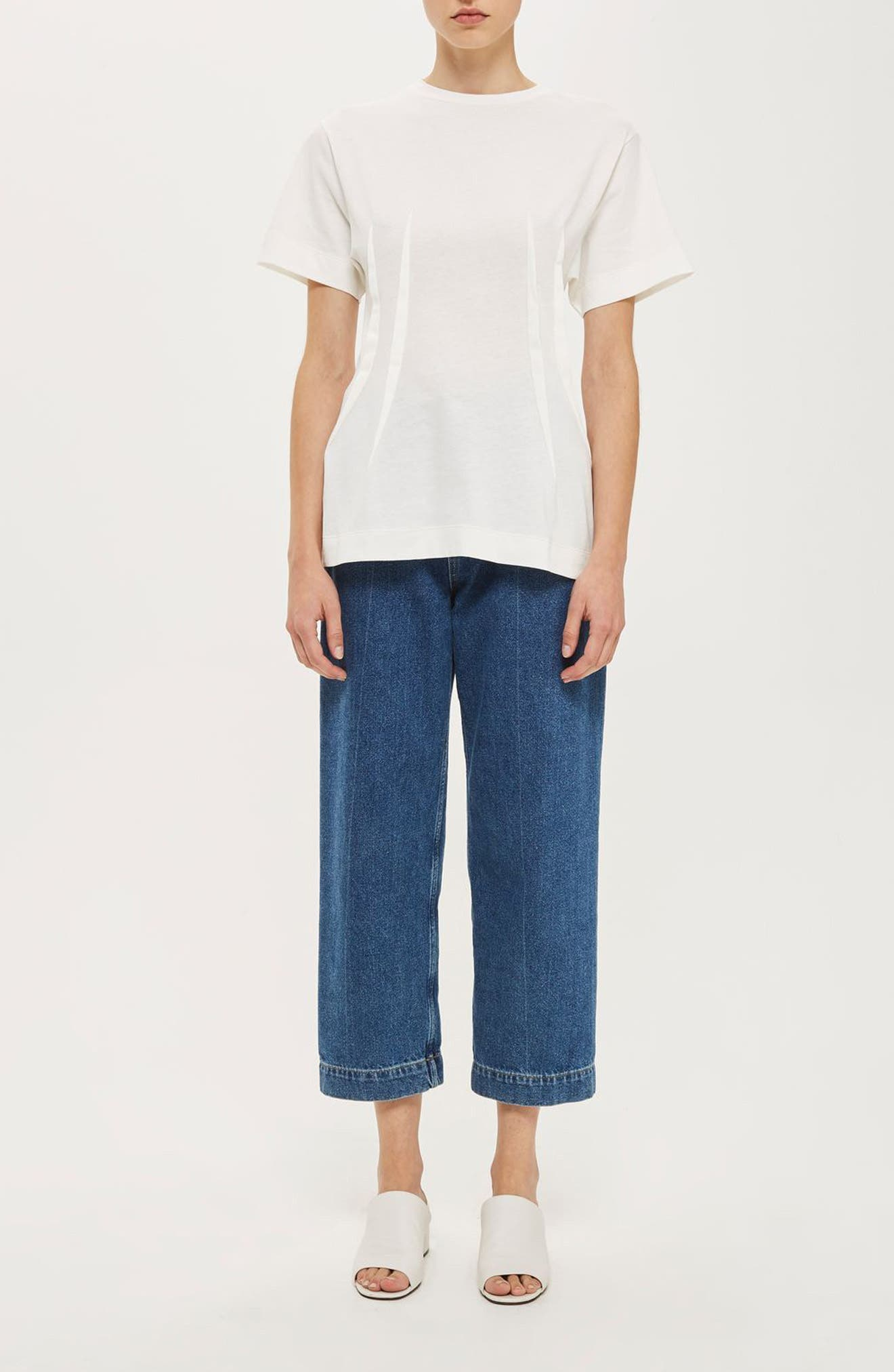 Alternate Image 7  - Topshop Boutique Pintuck Tee