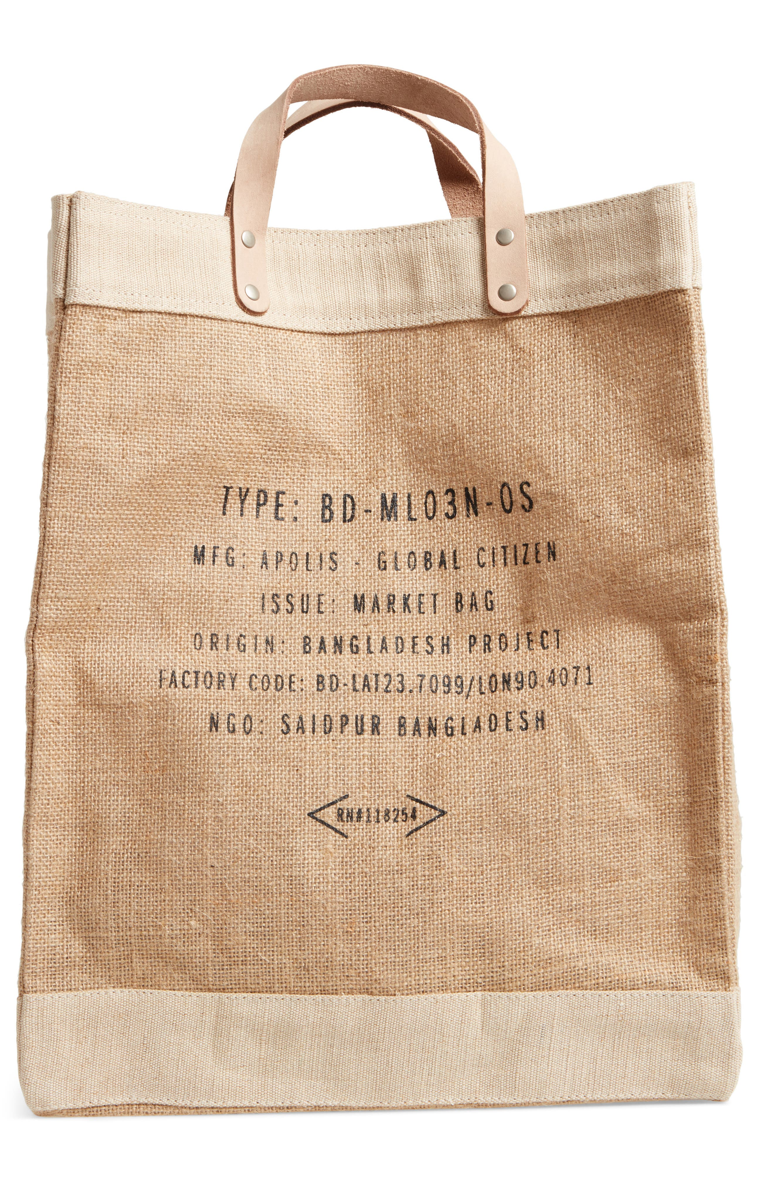 Alternate Image 2  - Apolis Market Bag