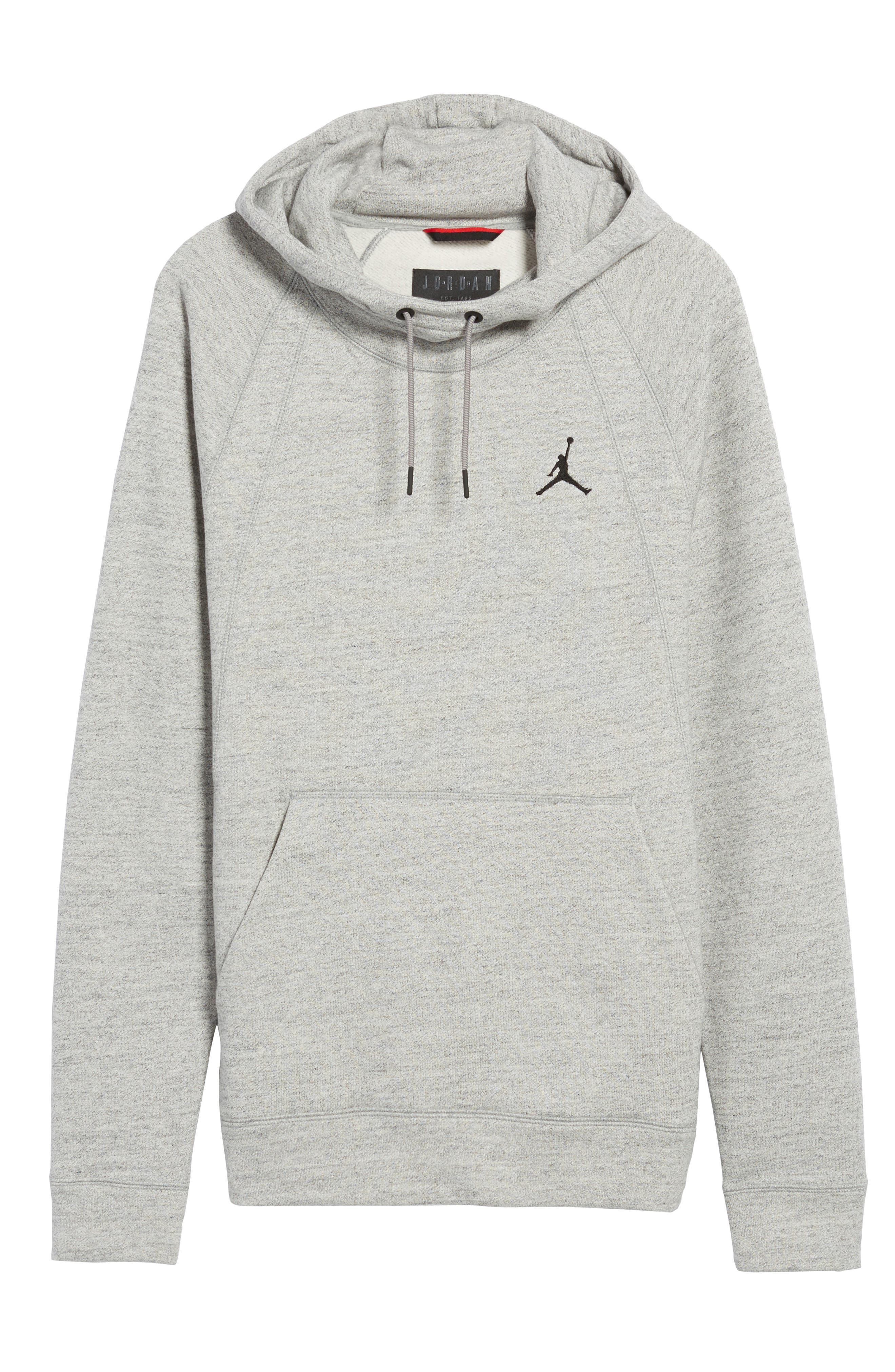 Alternate Image 6  - Nike Jordan Sportswear Fleece Hoodie
