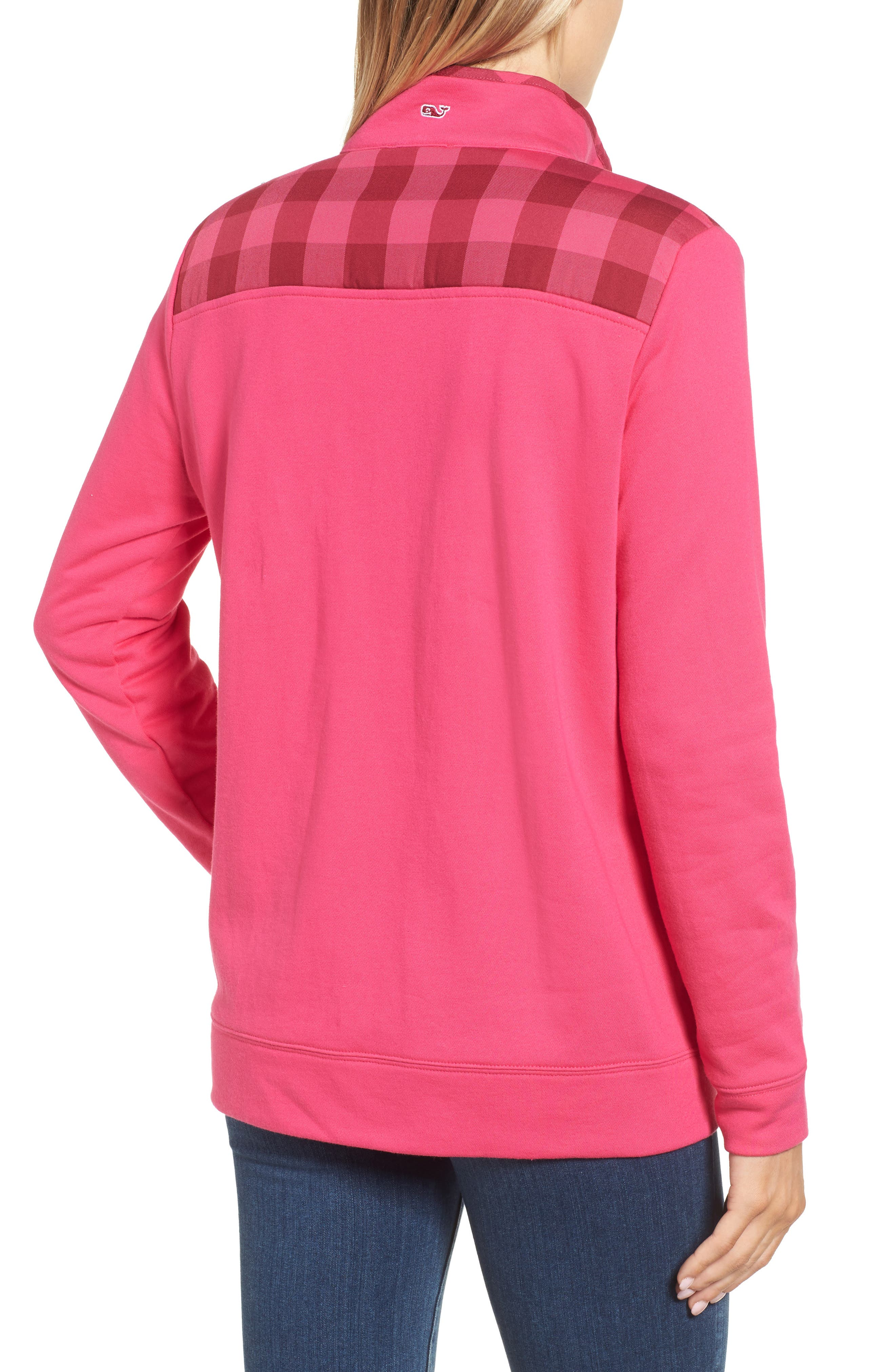 Alternate Image 2  - vineyard vines Buffalo Check Classic Shep Pullover