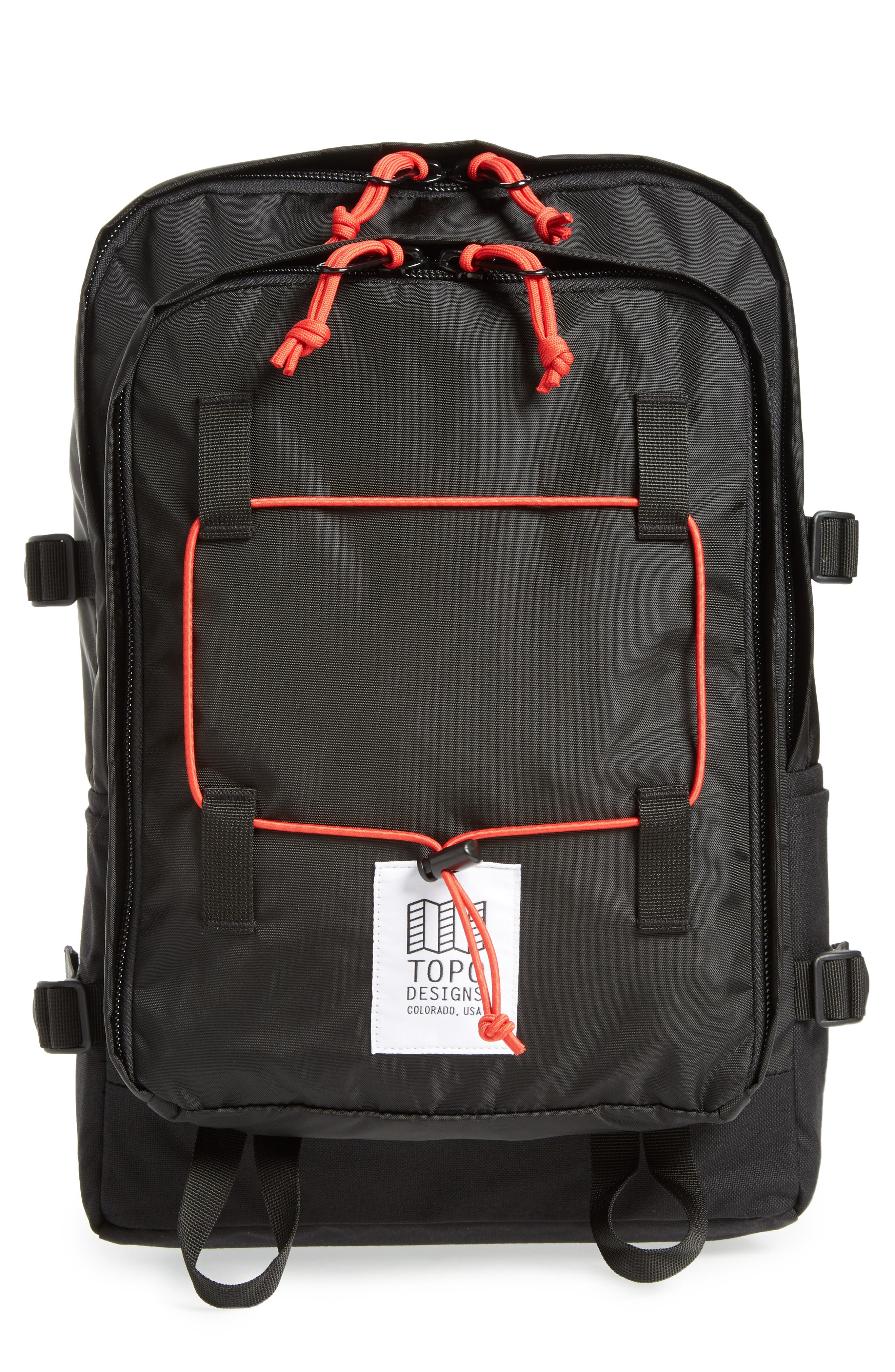 Stack Pack Backpack,                             Main thumbnail 1, color,                             Black