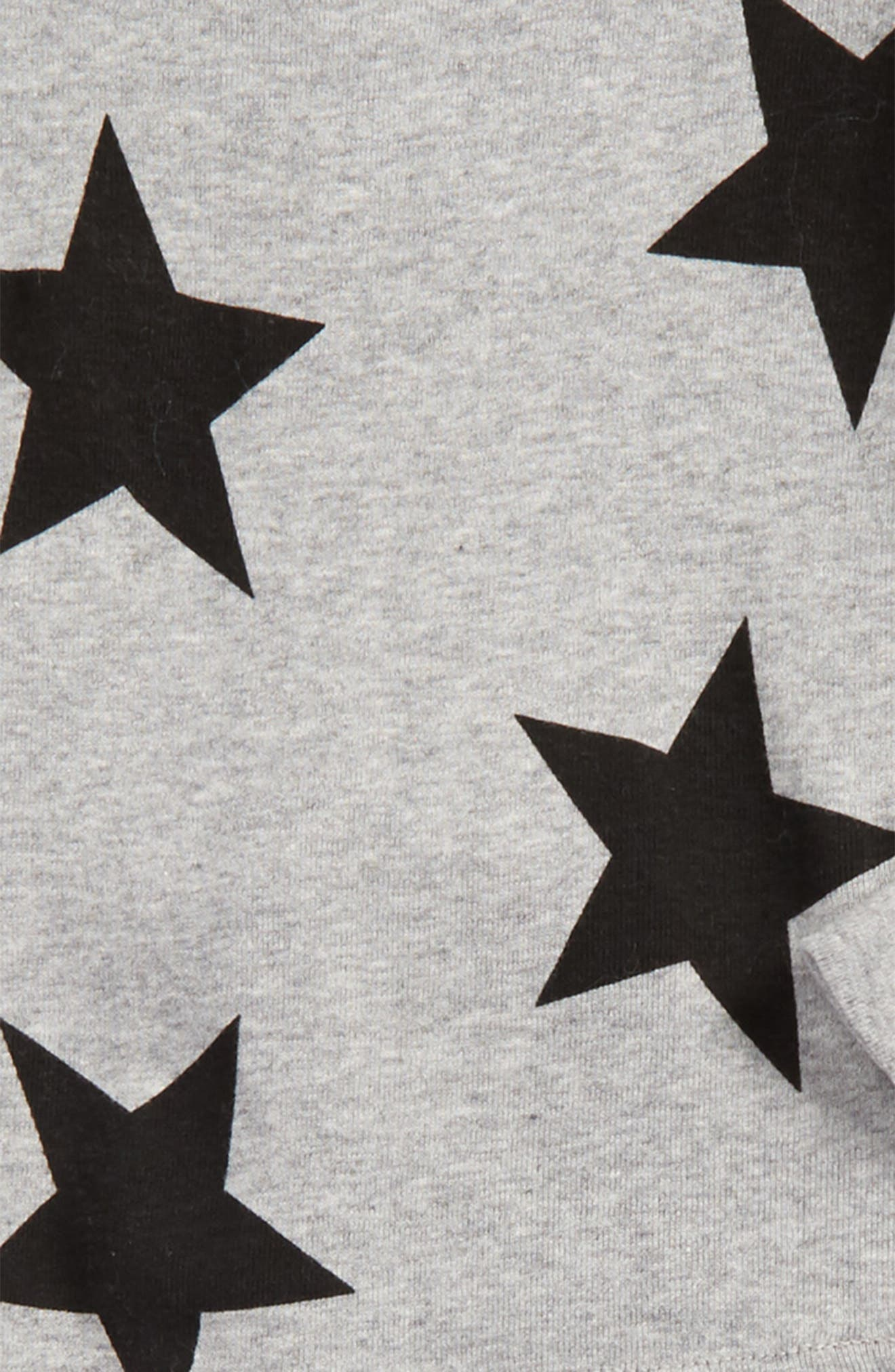 Alternate Image 2  - NUNUNU Star Print T-Shirt & Pants Set (Toddler Boys & Little Boys)