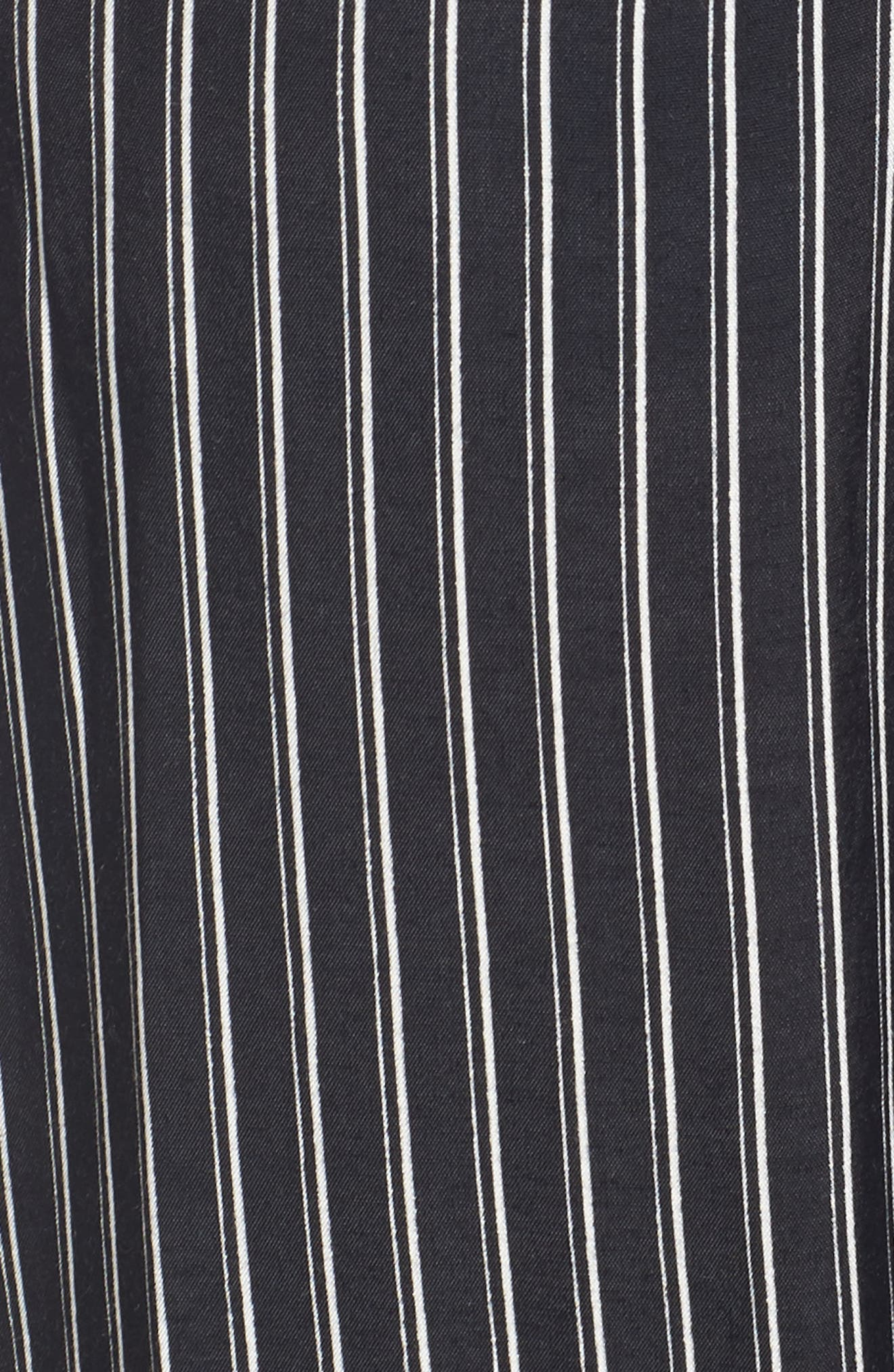 Cedric Plunging Pinstripe Jumpsuit,                             Alternate thumbnail 4, color,                             San Cristobal Stripe Print