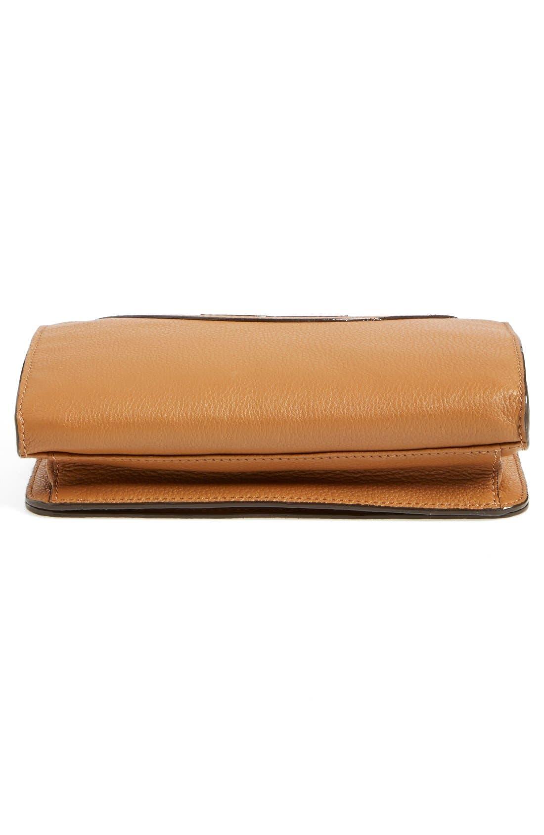Alternate Image 6  - Tory Burch 'All-T' Leather Crossbody Bag