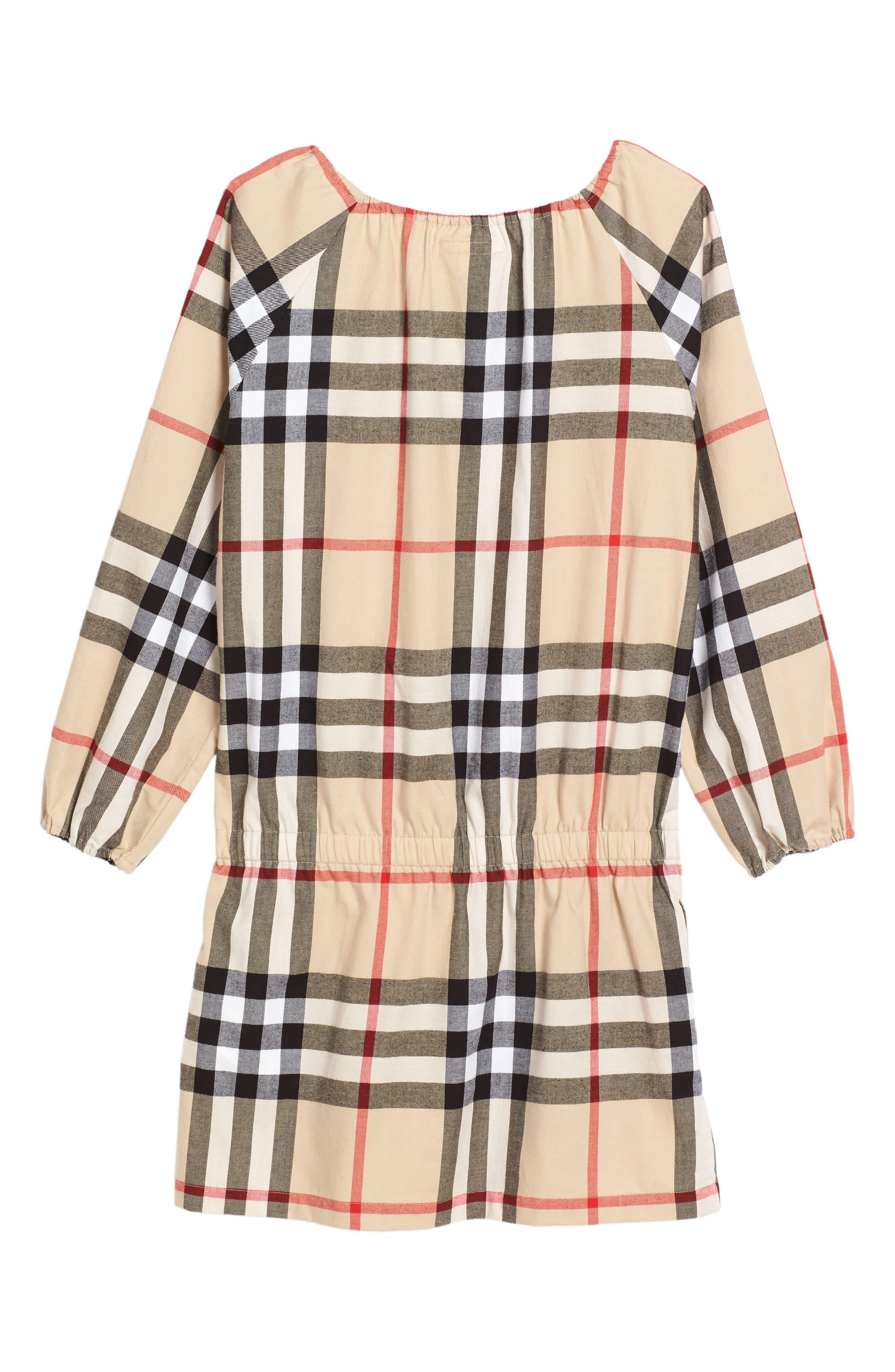 Alternate Image 2  - Burberry Kadyann Check Dress (Little Girls & Big Girls)