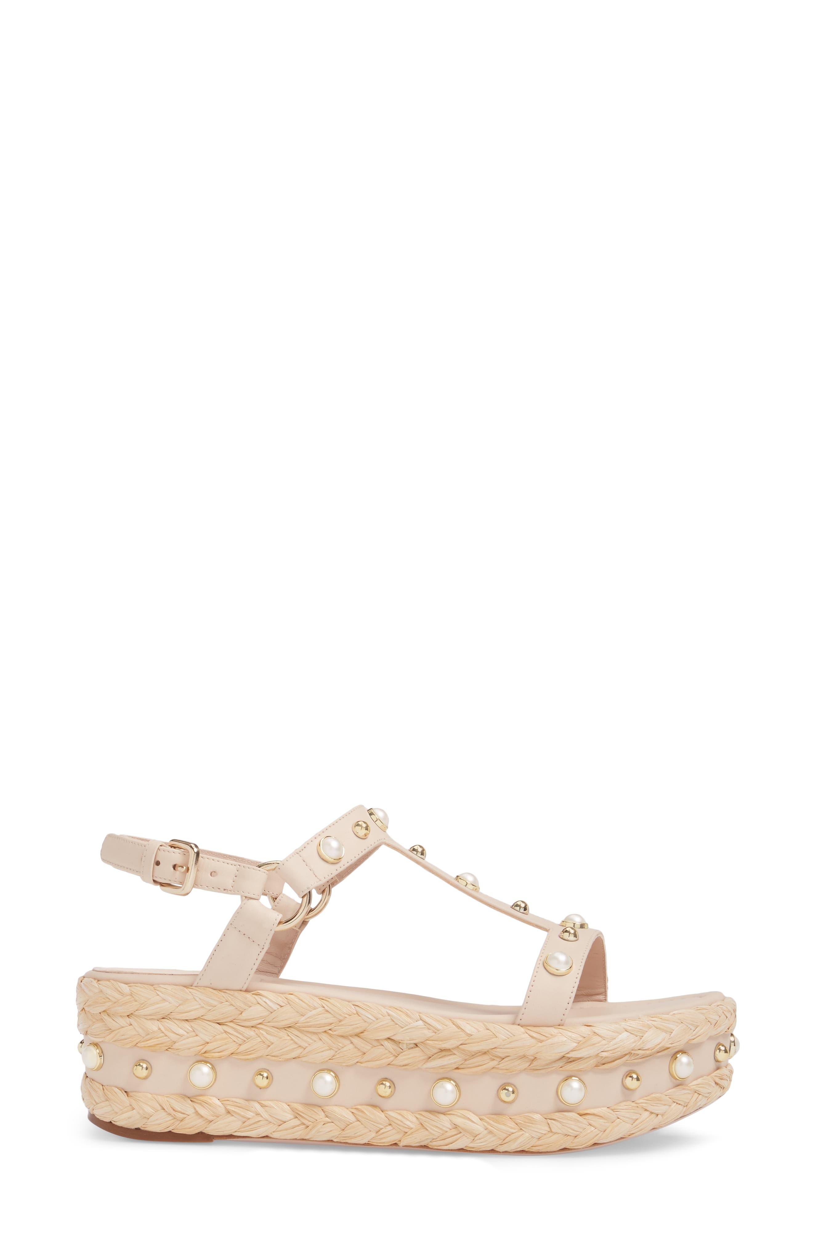 Alternate Image 3  - Stuart Weitzman Beraffia Platform Sandal (Women)