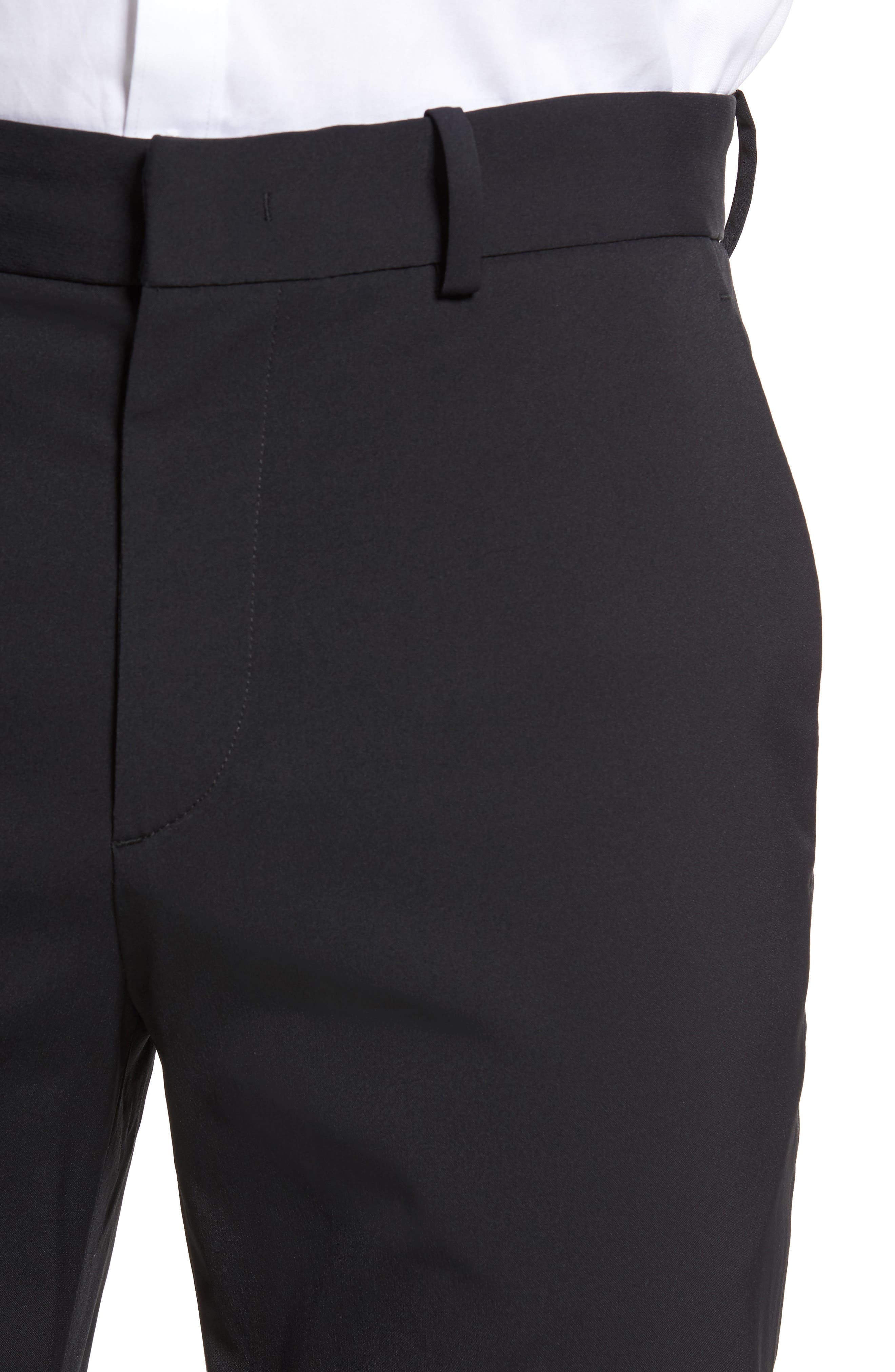 Peterson Neoteric Tech Chino Pants,                             Alternate thumbnail 4, color,                             Black