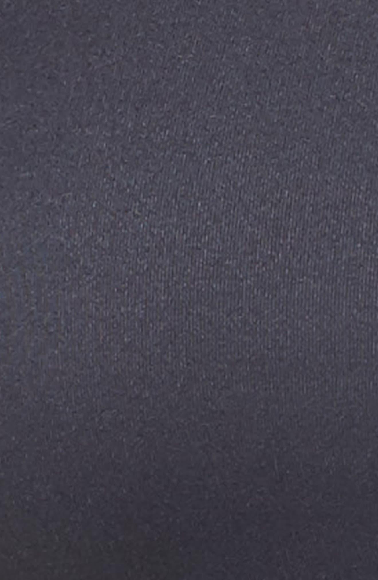 Crown Sports Bra,                             Alternate thumbnail 6, color,                             Sapphire Black