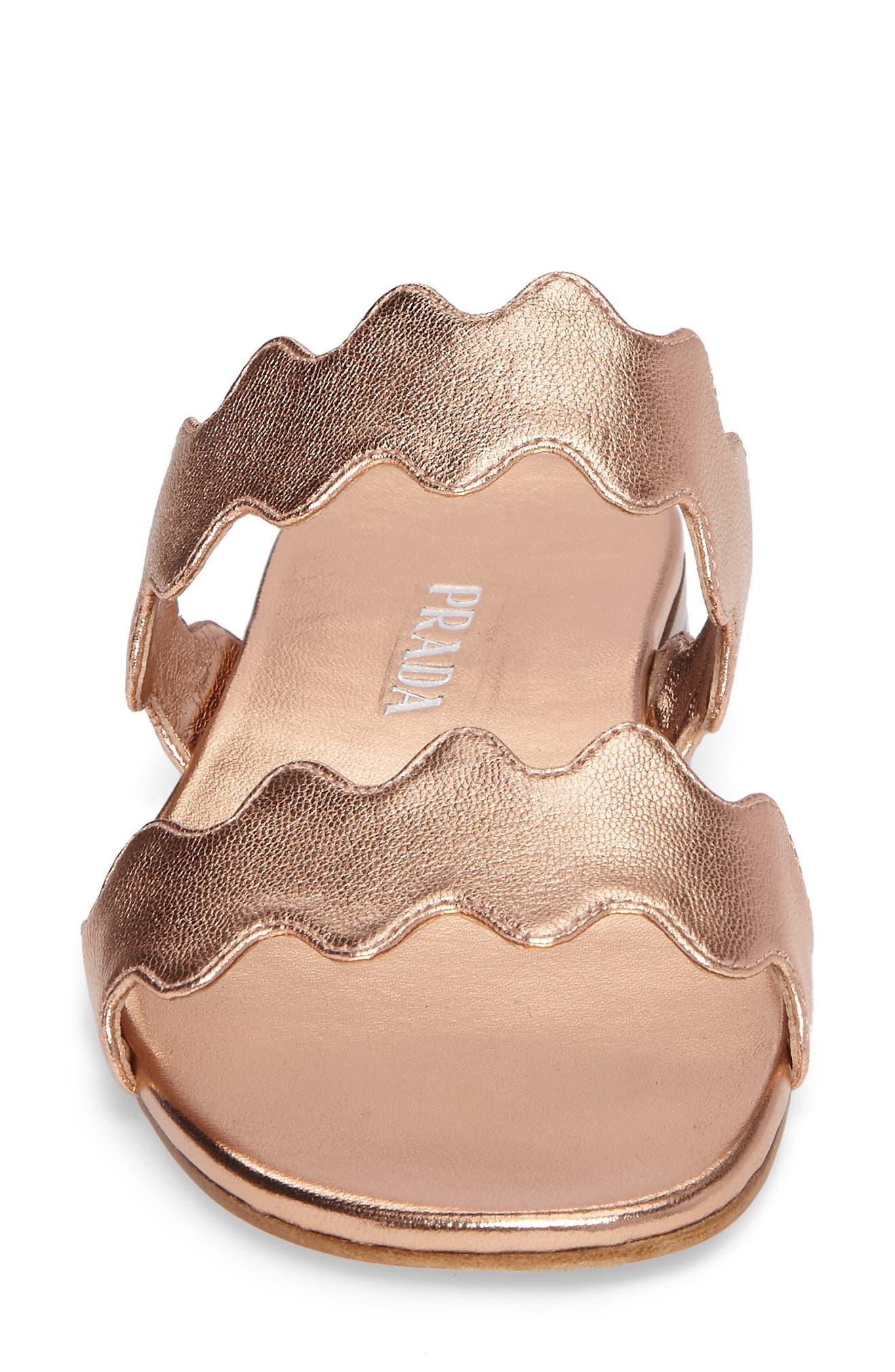 Alternate Image 4  - Prada Wave Slide Sandal (Women)