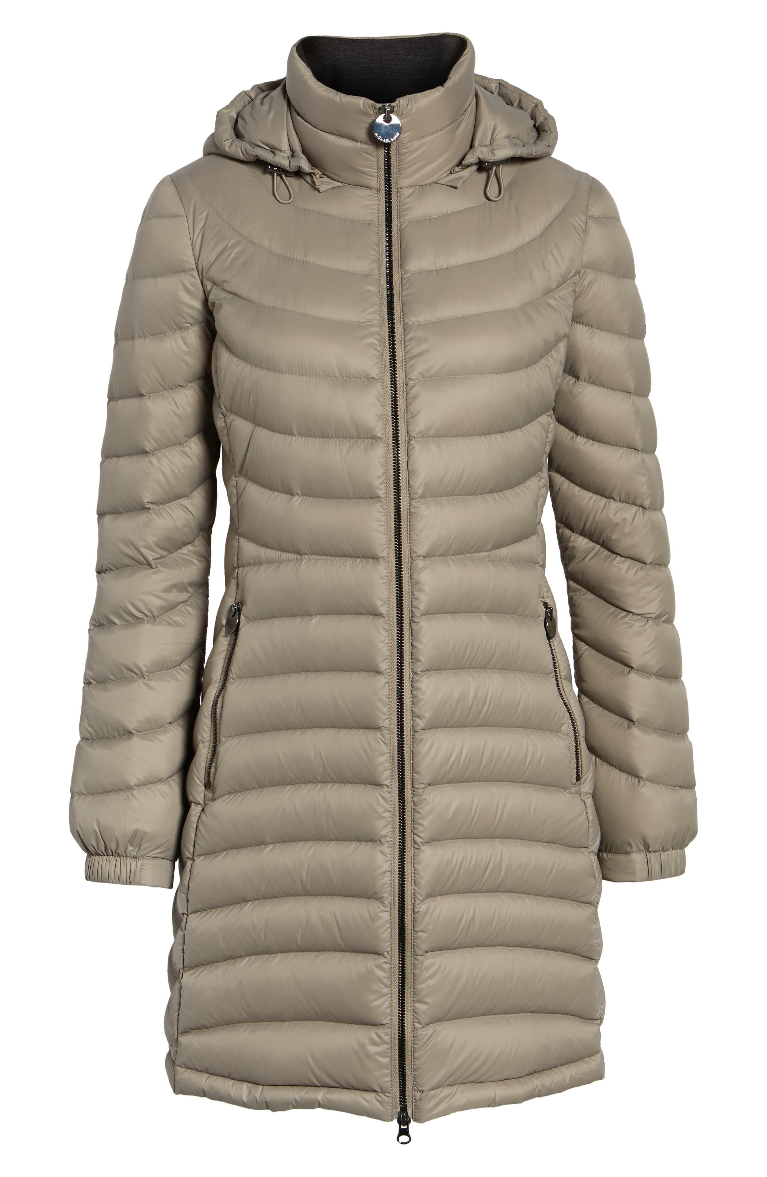 Alternate Image 6  - MICHAEL Michael Kors Hooded Down Coat (Regular & Petite)