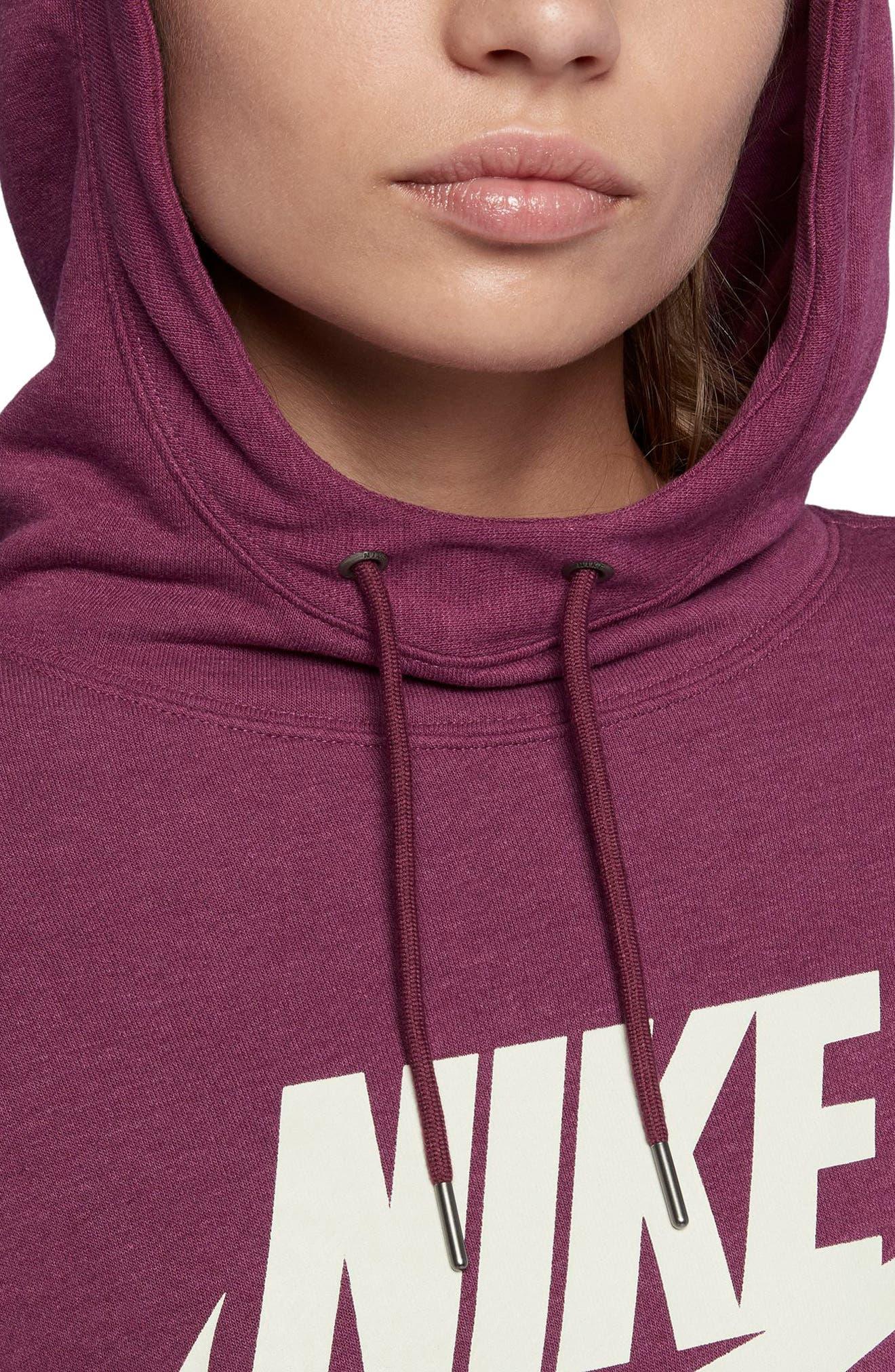 Alternate Image 4  - Nike Women's Modern Pullover Hoodie