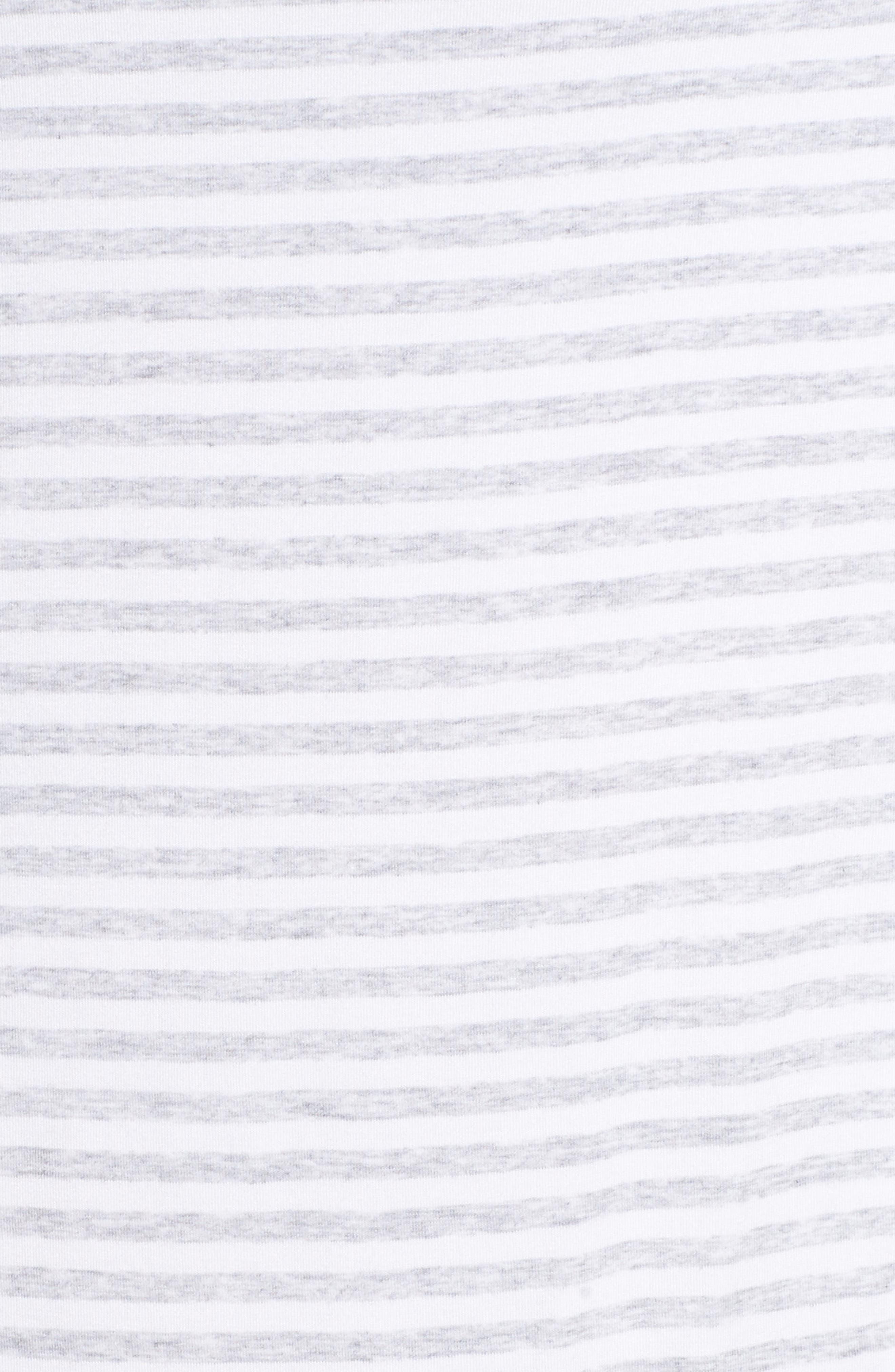 'Moonlight' Nightshirt,                             Alternate thumbnail 5, color,                             Grey Pearl Heather Even Stripe
