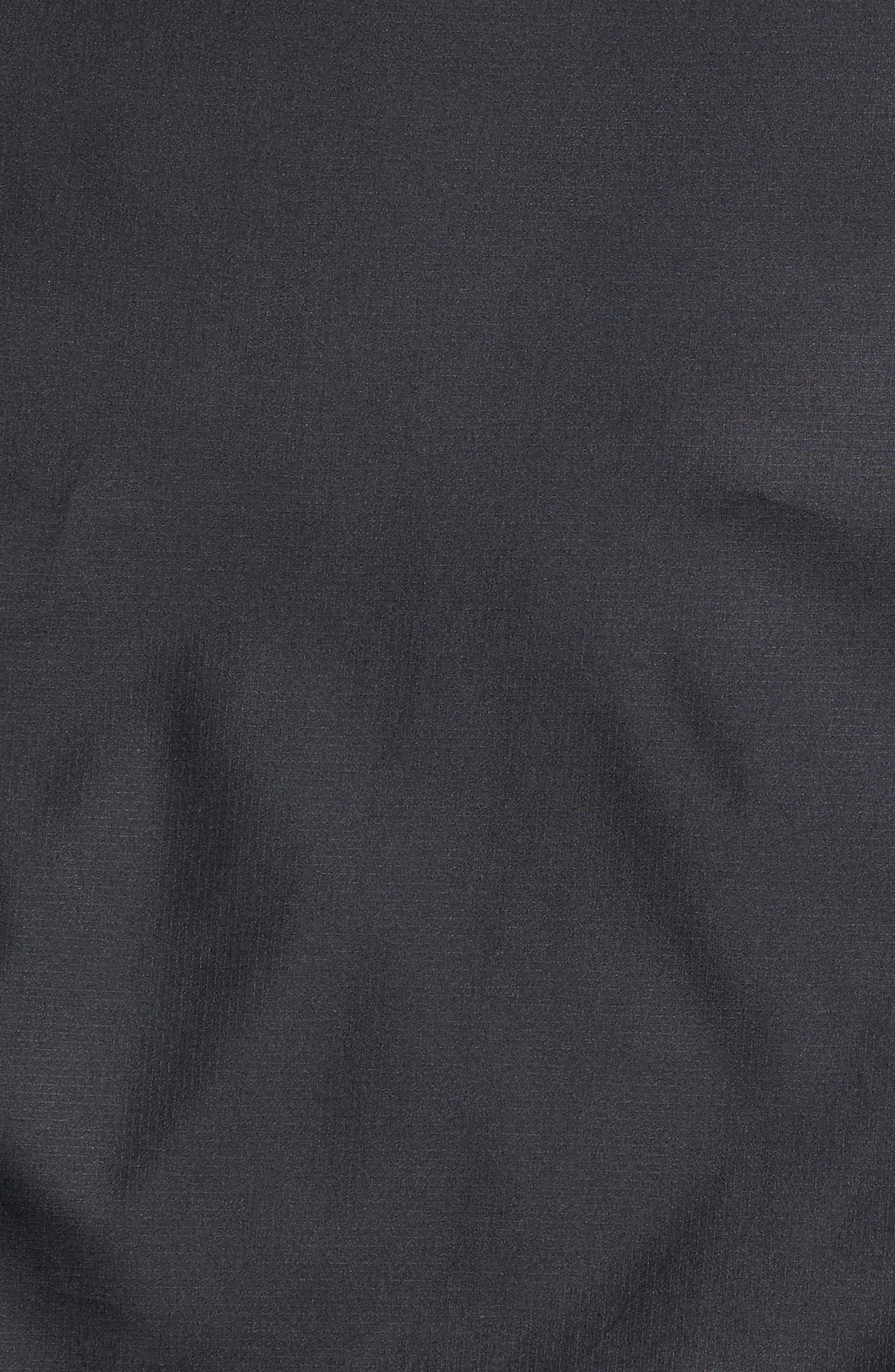 Sportstyle Reactor Reversible Bomber Jacket,                             Alternate thumbnail 5, color,                             Black / Black