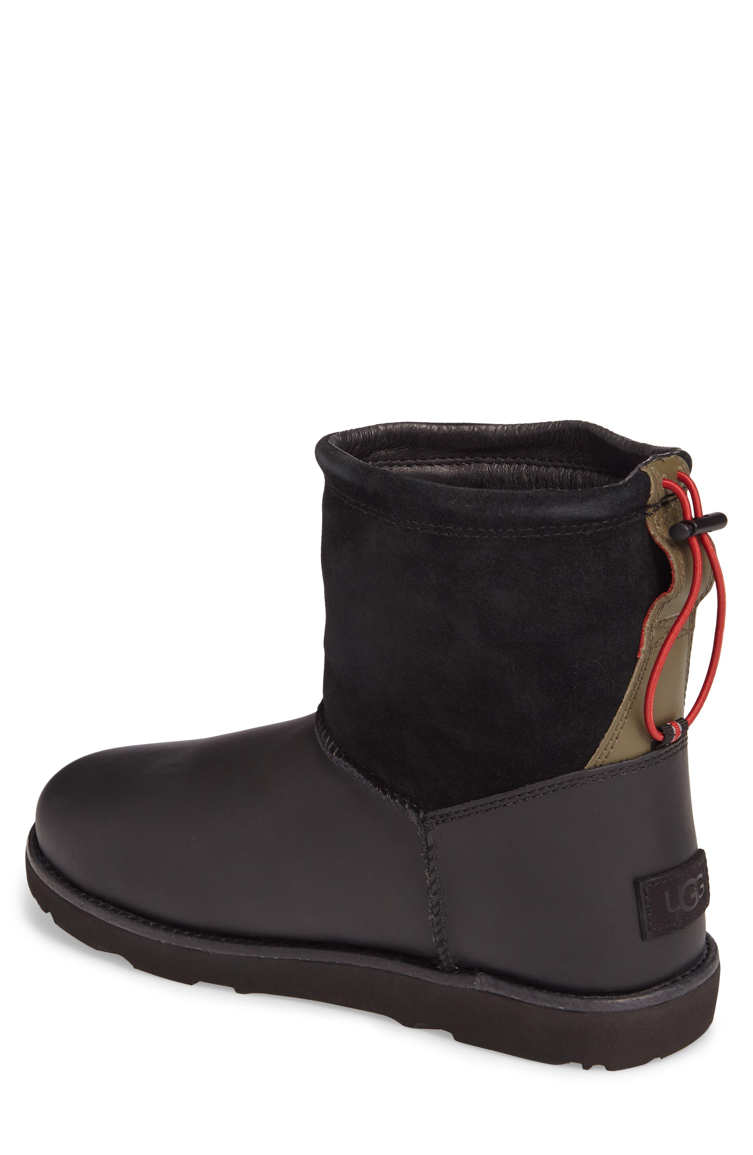 Classic Waterproof Boot,                             Alternate thumbnail 2, color,                             Black