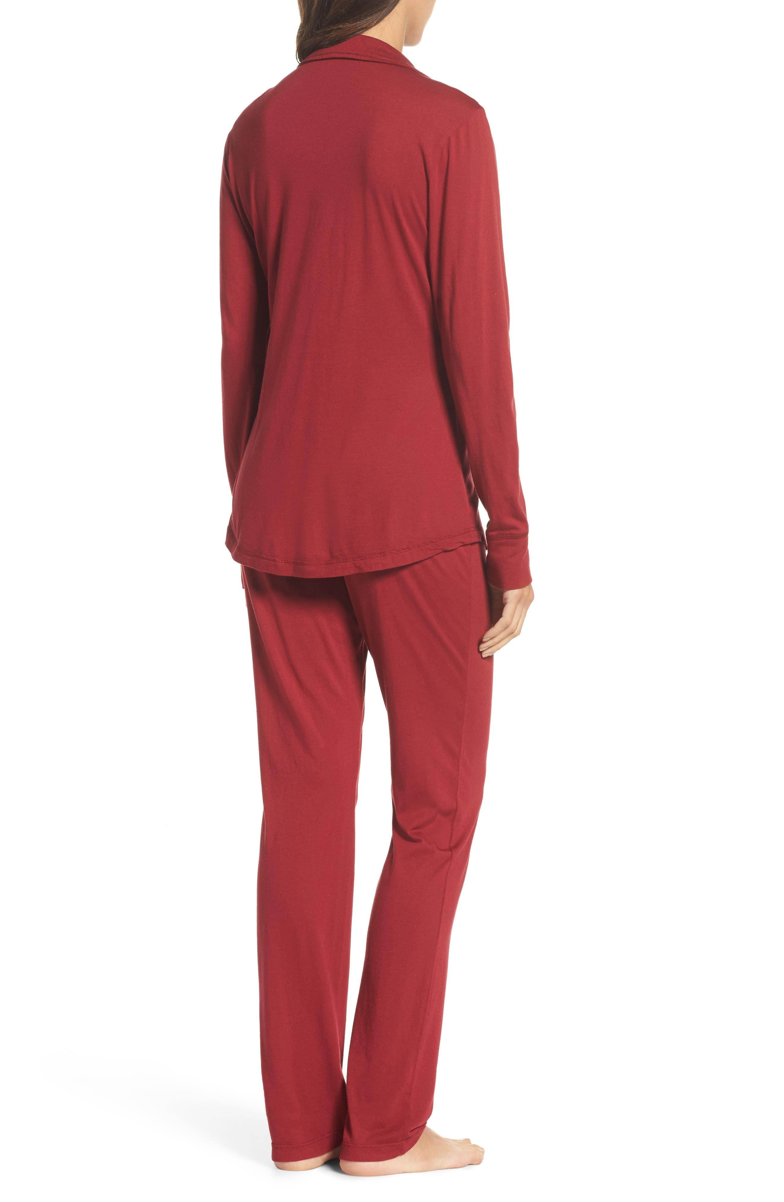Alternate Image 2  - LOVE+GRACE 'Cassie' Cotton & Modal Pajamas