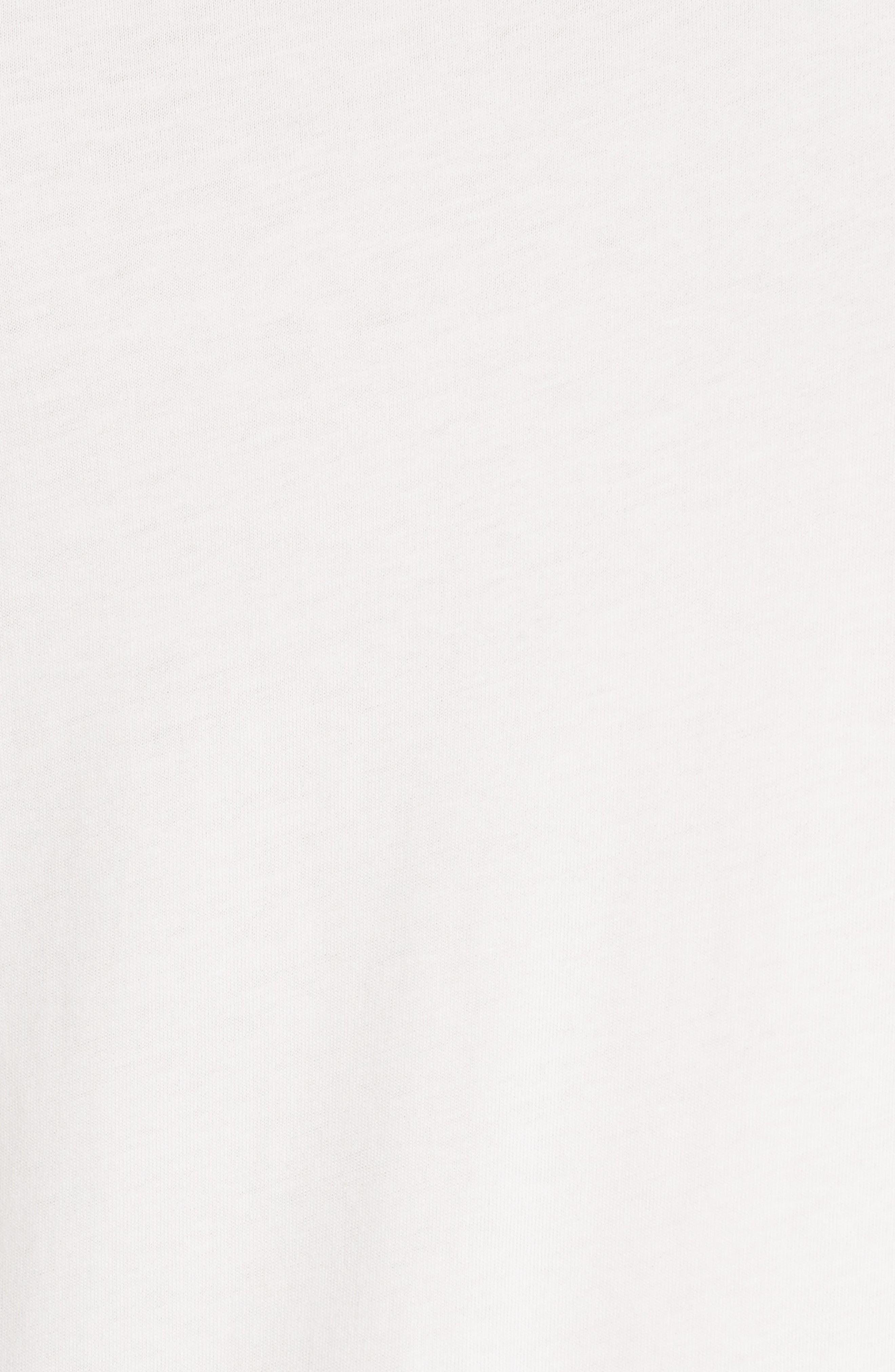 Alternate Image 5  - Burberry Uima Ruffle Cotton Top
