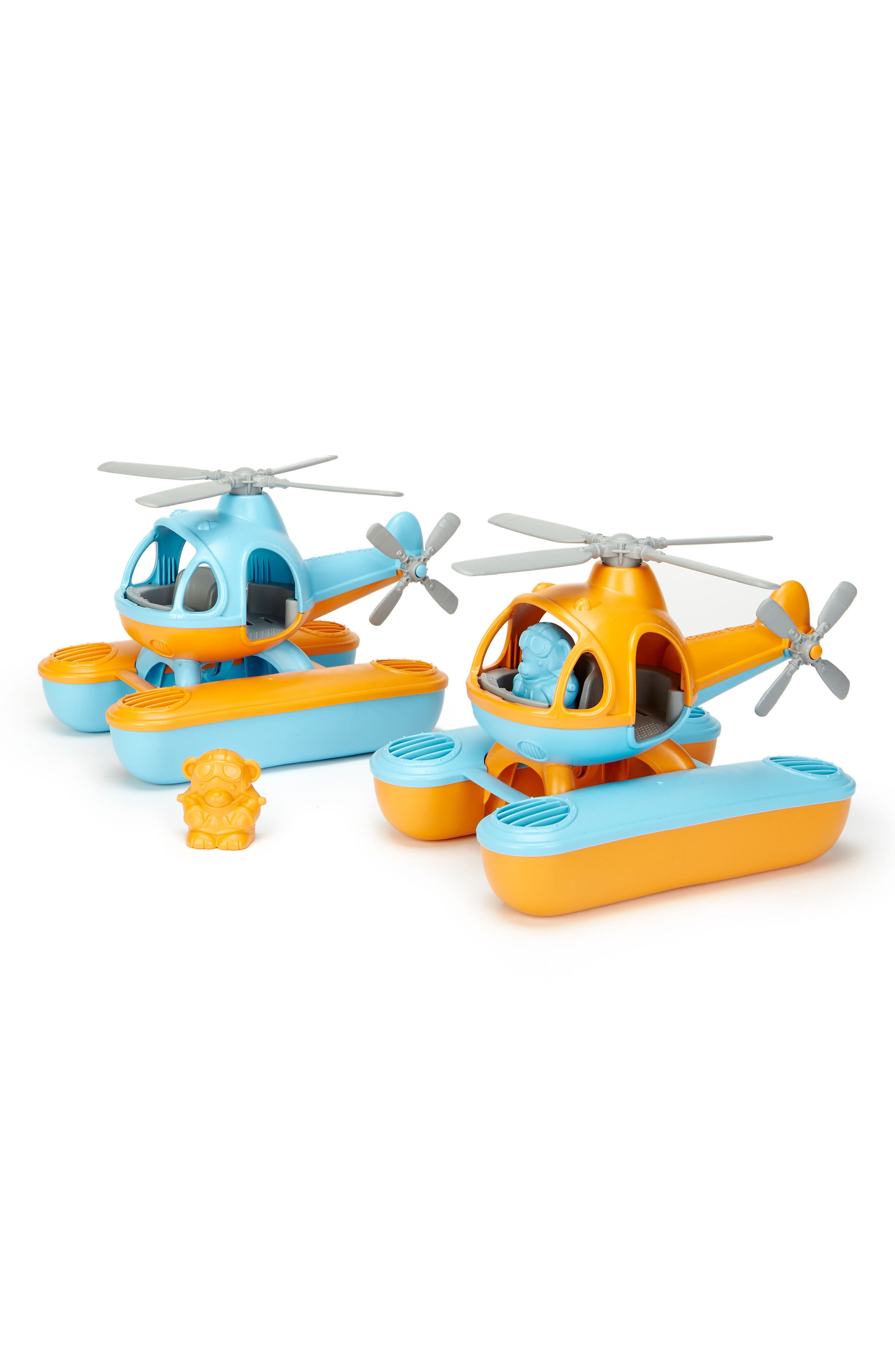 Two-Piece Seacopter Toy,                             Alternate thumbnail 2, color,                             Orange
